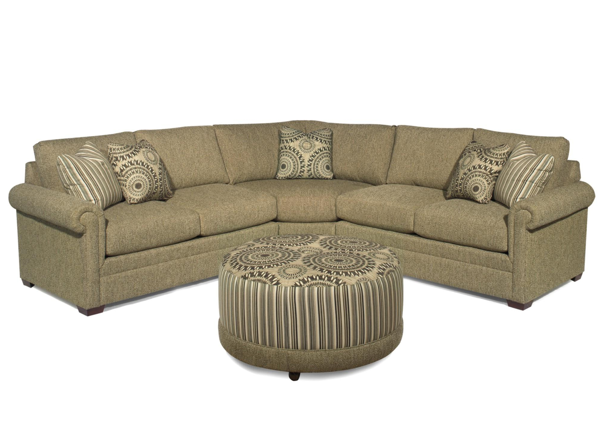 Craftmaster F9 Custom Collection <b>customizable</b> 3 Piece For Well Known Adeline 3 Piece Sectionals (View 11 of 20)