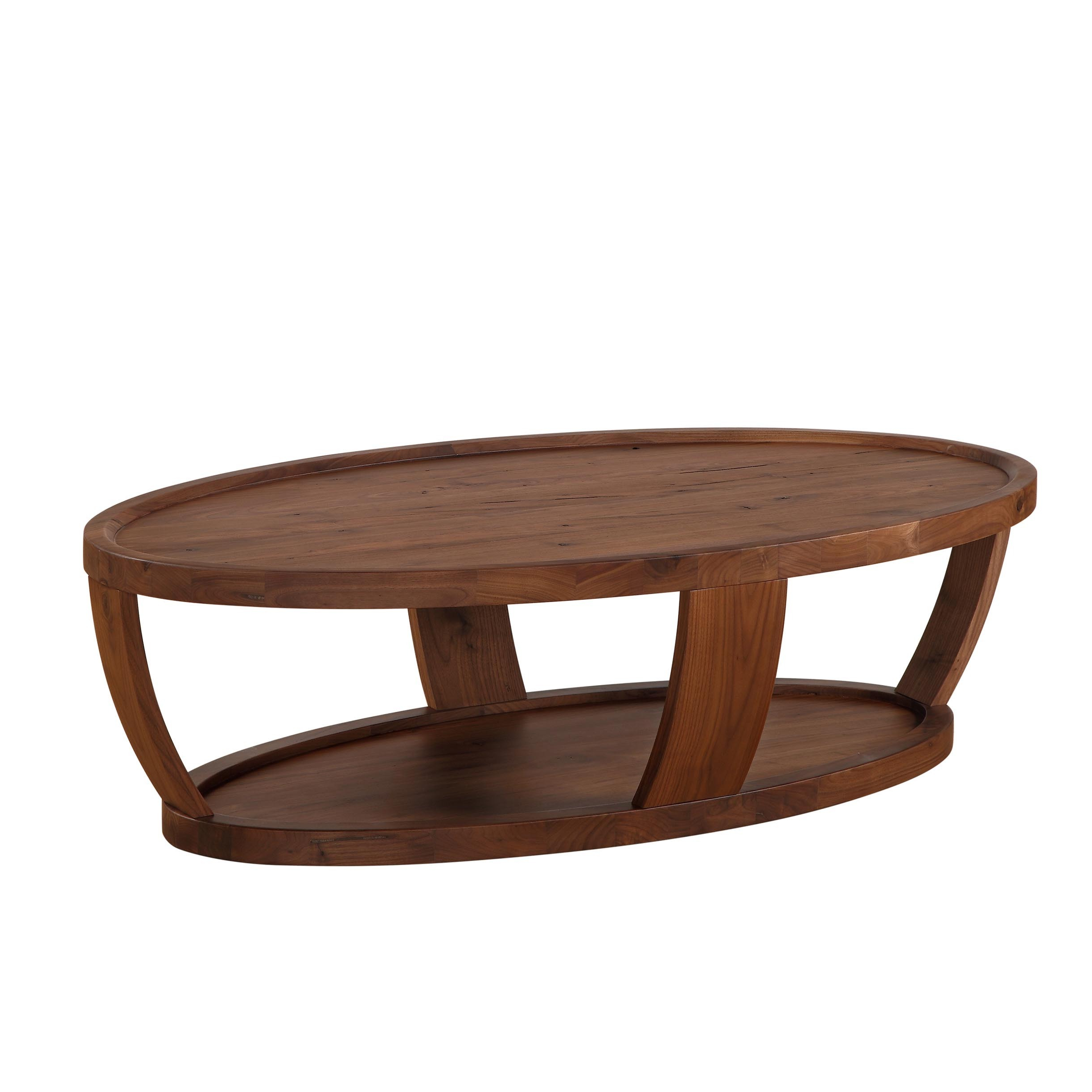 Craftsman Cocktail Tables Inside Latest Shop Aurelle Home American Walnut Craftsman Coffee Table – On Sale (Gallery 6 of 20)