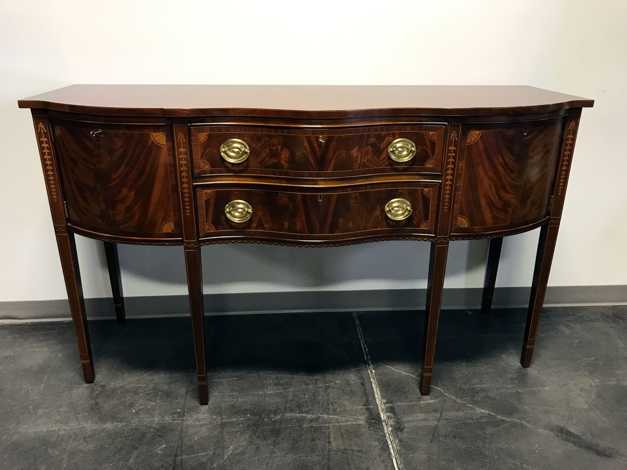 Craftsman Sideboards Within Well Liked Councill Craftsmen Inlaid Flame Mahogany Hepplewhite Federal (Gallery 20 of 20)
