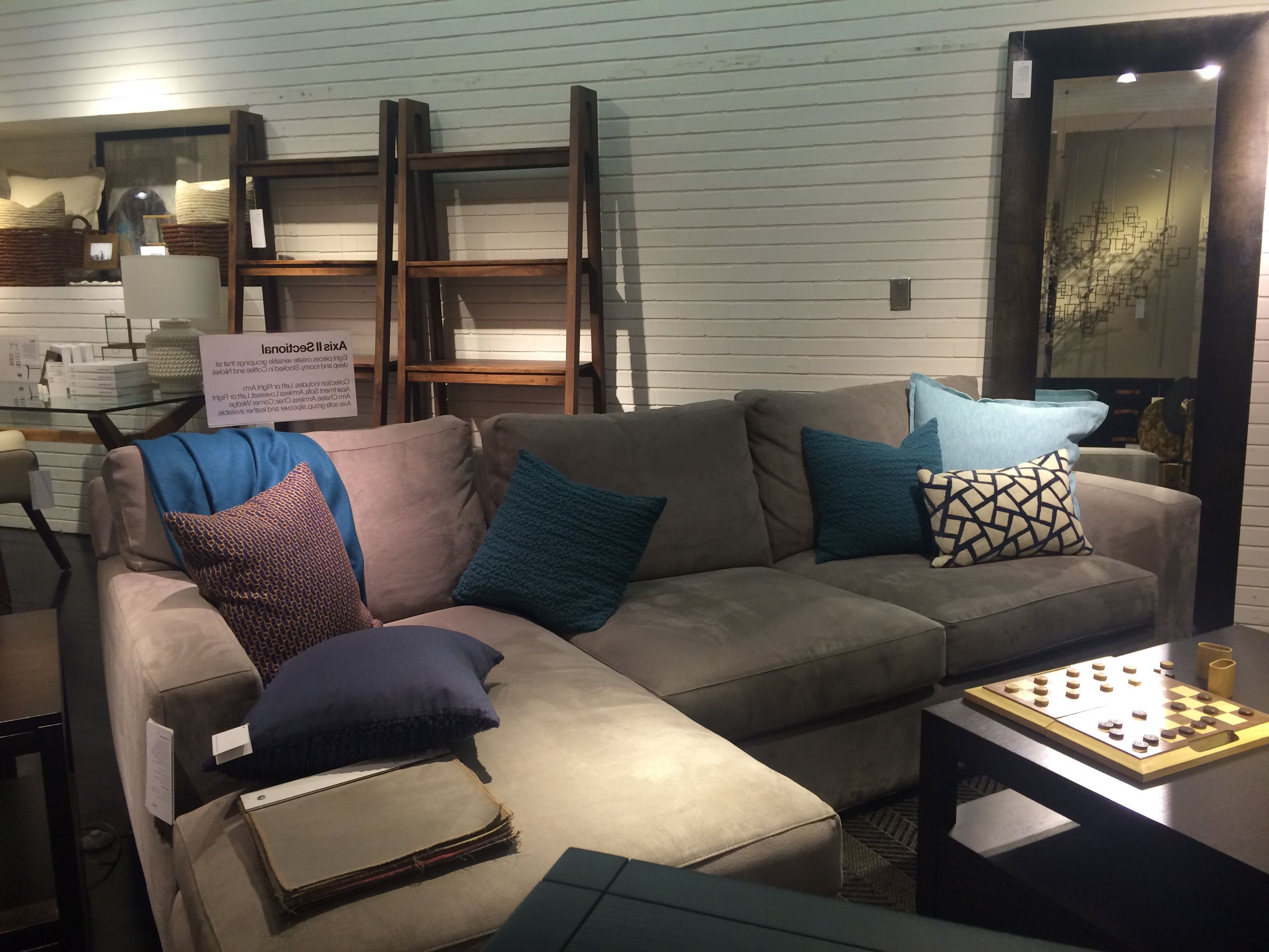 Crate And Barrel Axis Ii Sectional – $2698 (Gallery 20 of 20)