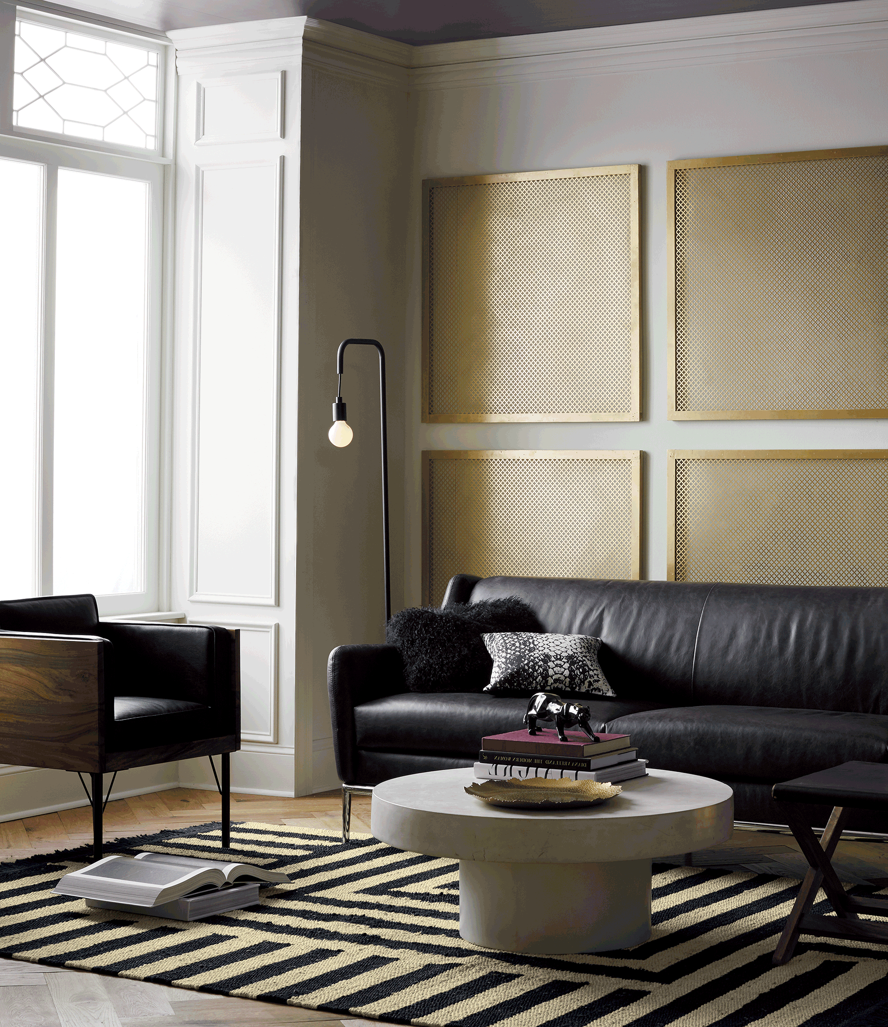Cuff Hammered Gold Coffee Tables With Regard To Latest Nicks White Hammered Side Table Big Dipper Arc Lamp Cfl Joni Brass (View 6 of 20)