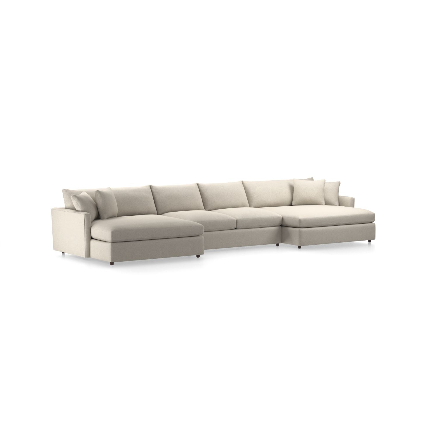 Current Aidan 4 Piece Sectionals Throughout Sectional Sofas – Love How You Live (View 19 of 20)