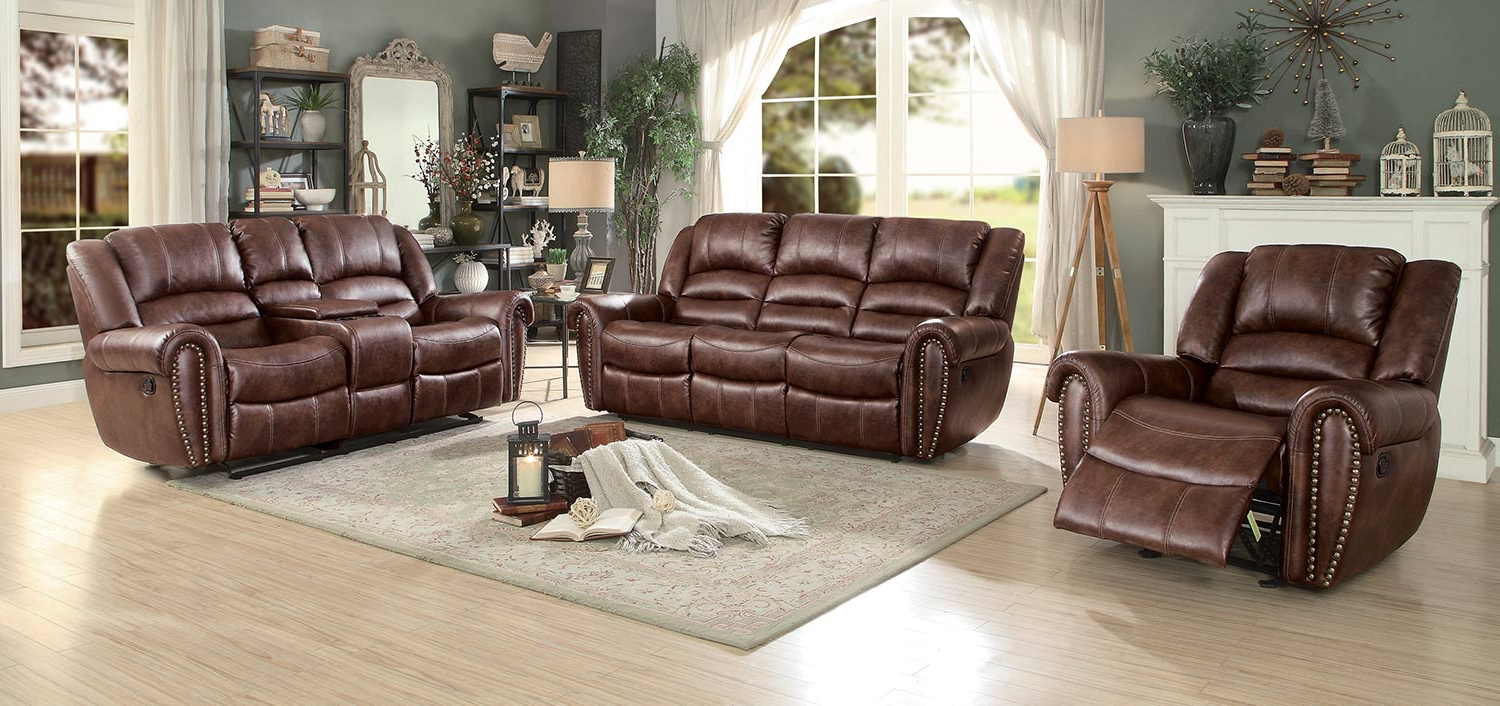 Current Clyde Saddle 3 Piece Power Reclining Sectionals With Power Headrest & Usb In Homelegance Center Hill Reclining Sectional Set – Dark Brown 9668Nsd (Gallery 10 of 20)