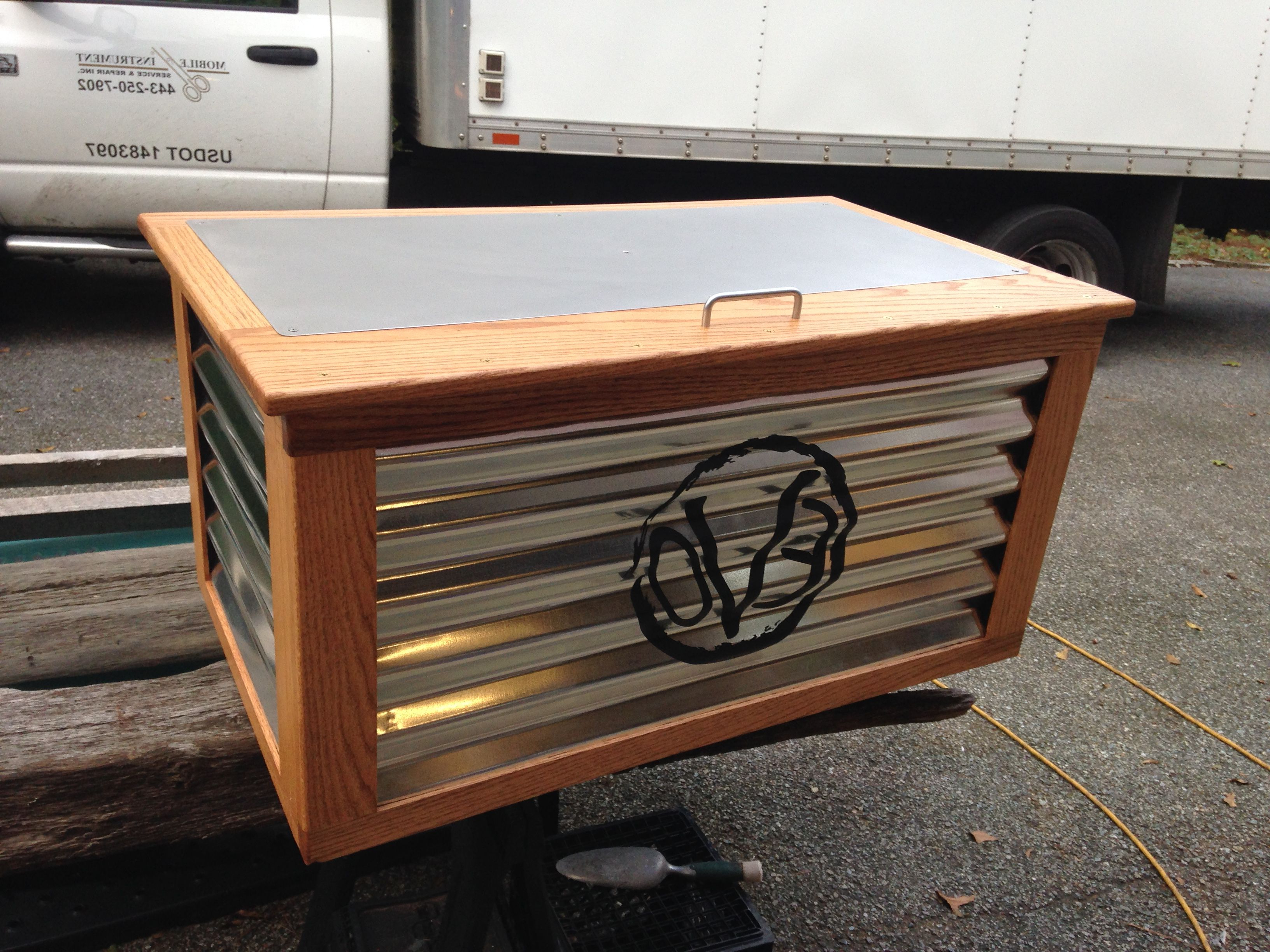 Current Corrugated White Wash Barbox Coffee Tables Inside Jockey Box Cooler Cover For Evolution Craft Brewing Company (View 7 of 20)