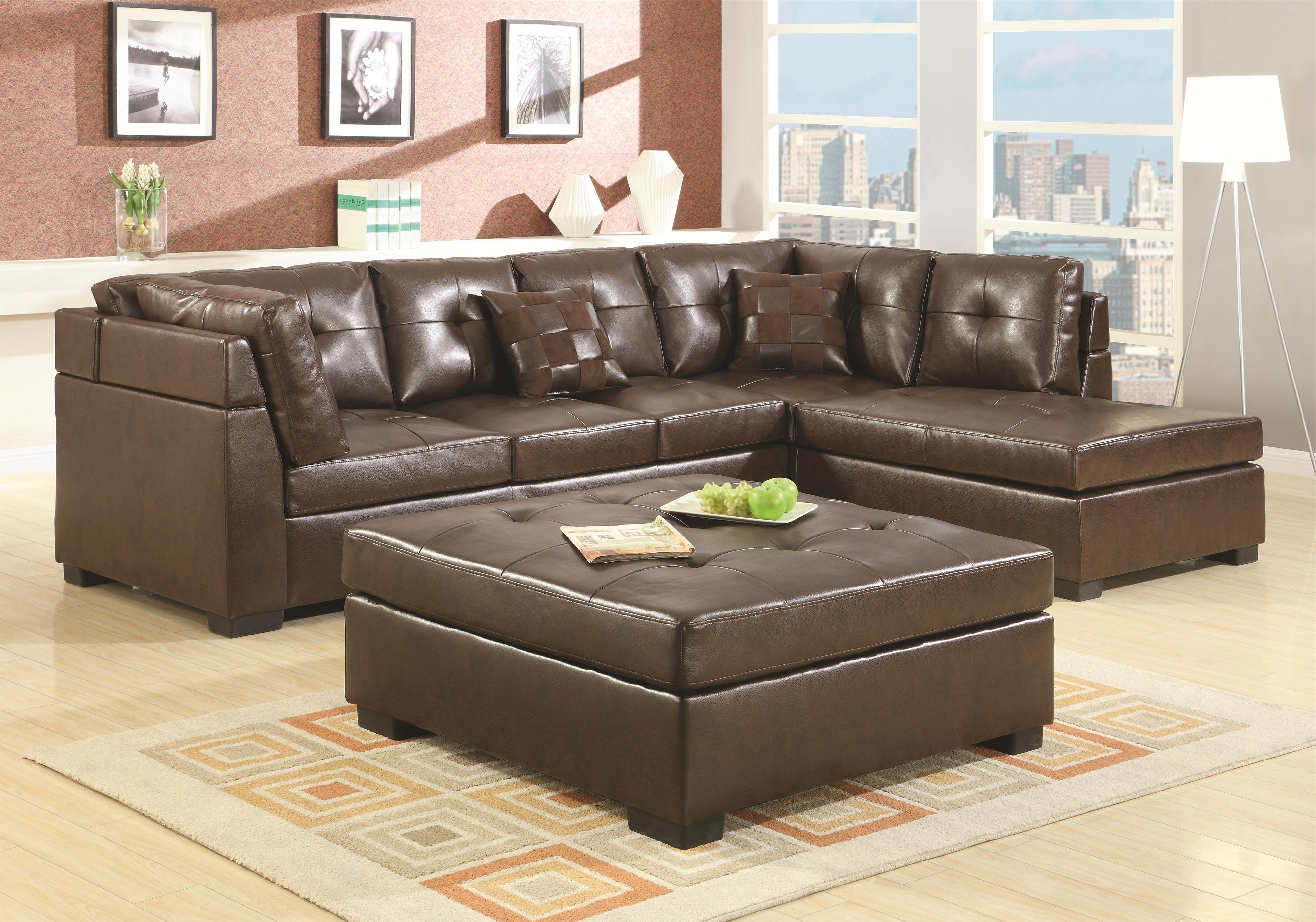 Current Egan Ii Cement Sofa Sectionals With Reversible Chaise In Satisfying 25 Blue Leather Sectional Sofa With Chaise Cool (View 4 of 20)