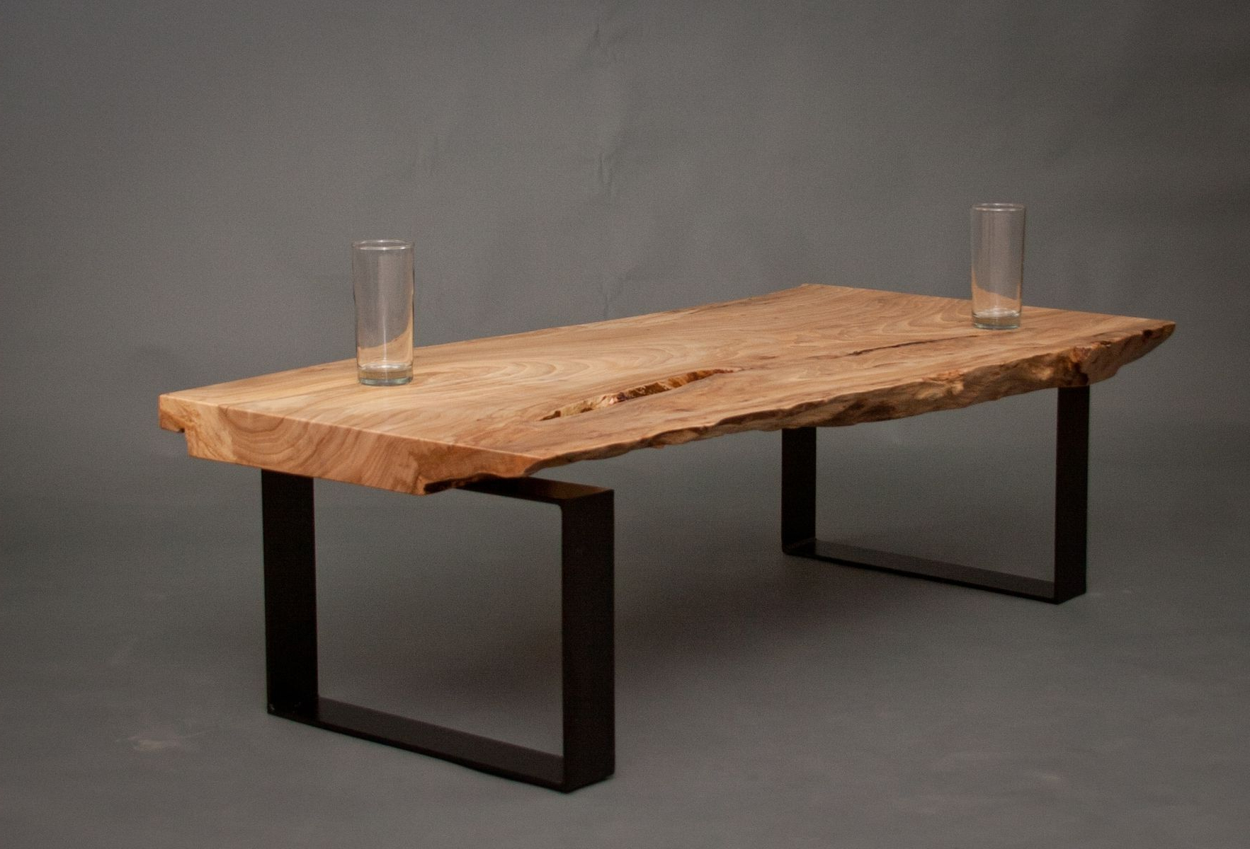 Current Hand Made Ellington – Reclaimed Elm Wood Coffee Tableelpis With Regard To Reclaimed Elm Iron Coffee Tables (View 2 of 20)