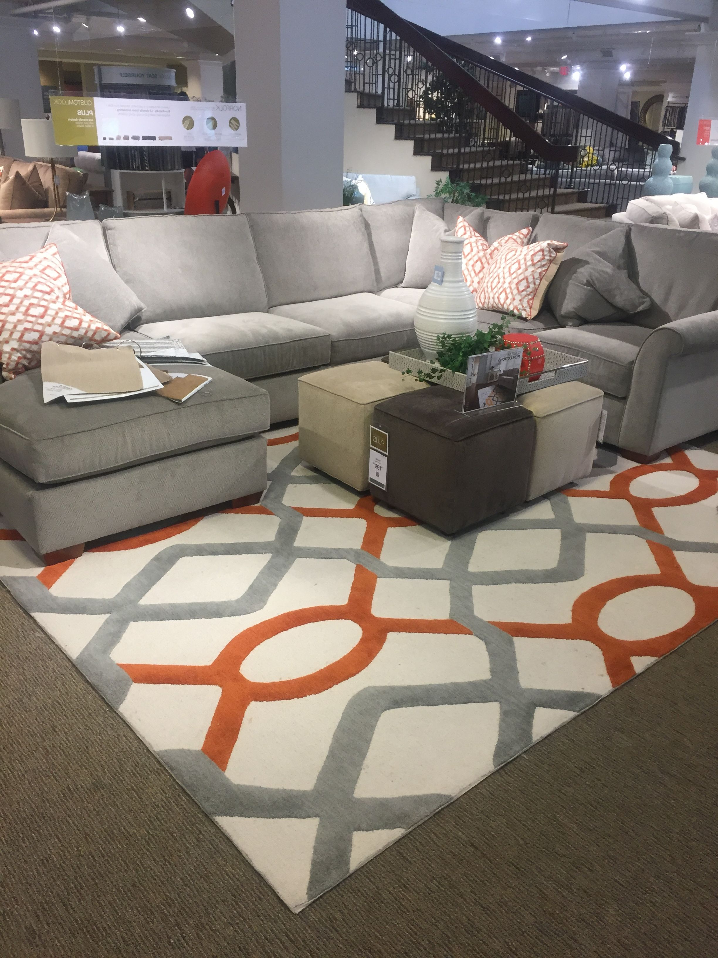 Current Havertys Norfolk Mineral Gray (Gallery 17 of 20)