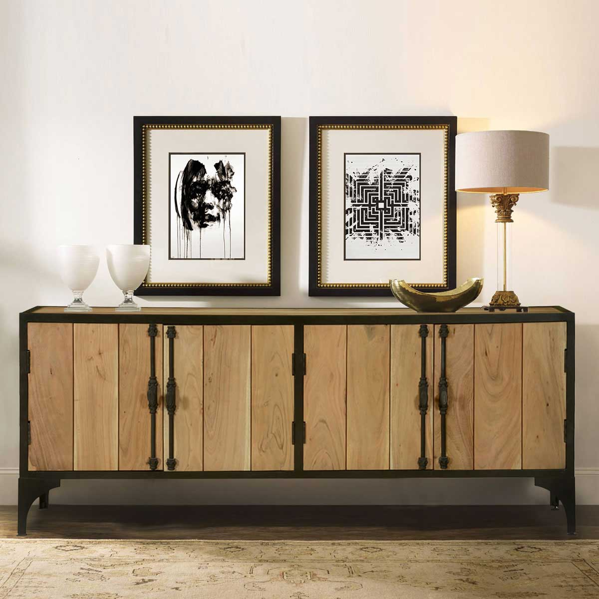 Featured Photo of Iron Sideboards