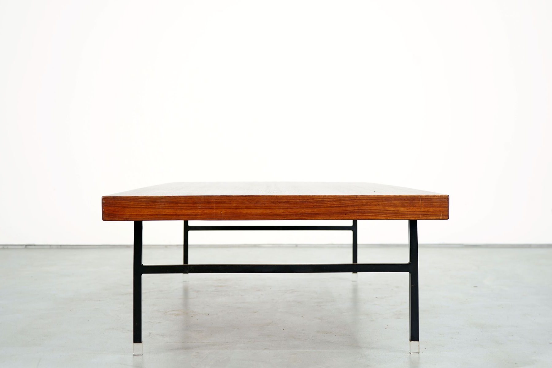 Current Large Teak Coffee Table, 1960s For Sale At Pamono Pertaining To Large Teak Coffee Tables (View 3 of 20)