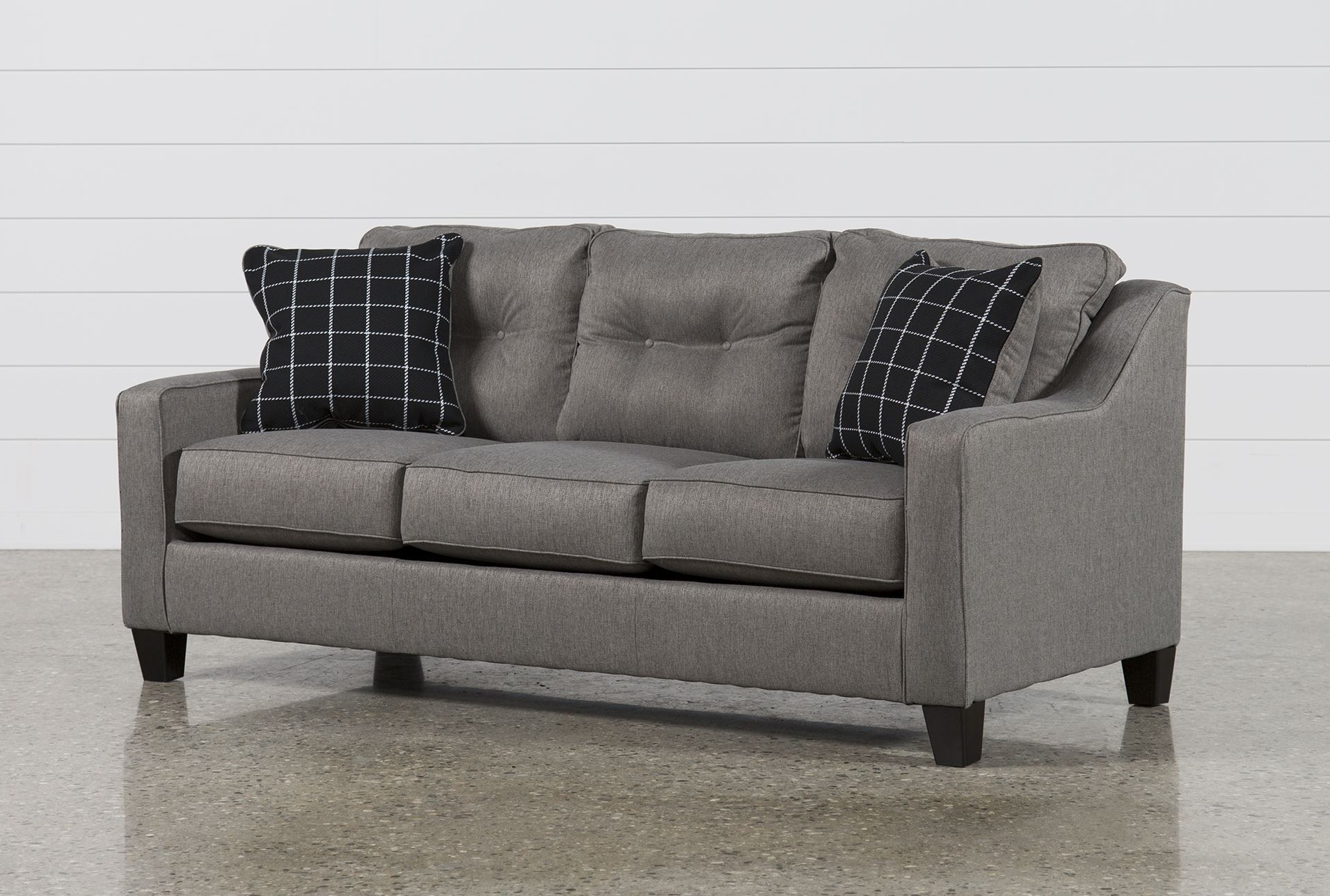 Current Living Spaces Sleeper Sofa – Home Decor 88 Regarding Turdur 2 Piece Sectionals With Raf Loveseat (View 5 of 20)