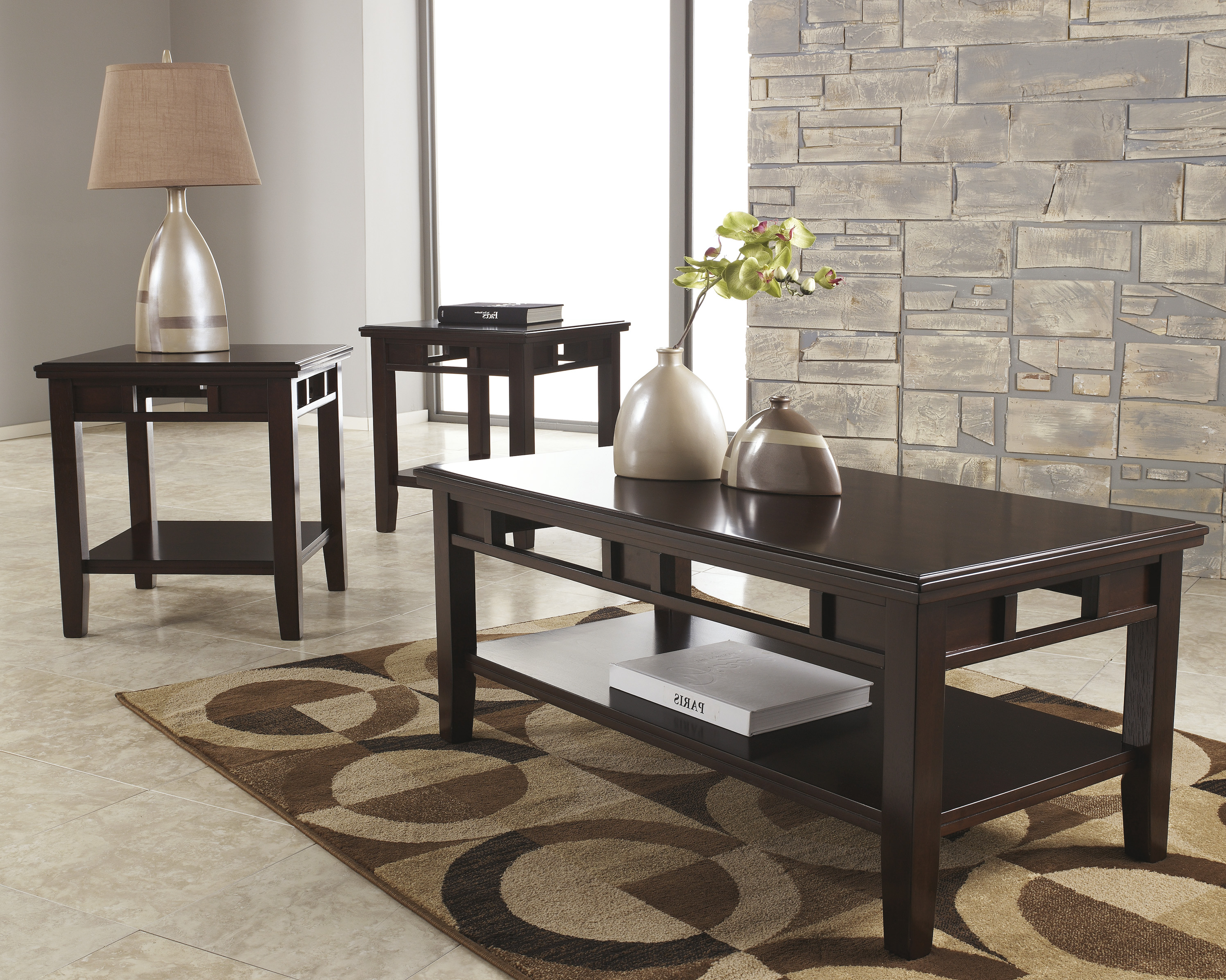 Current Logan Cocktail Tables In Logan Table Set – Brown's Furniture Showplace (View 6 of 20)