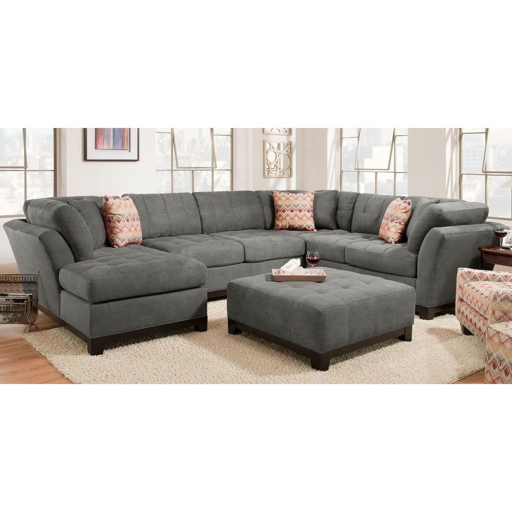 Current Mila Reversible Sectionalzipcode Design Online Cheap In Elm Grande Ii 2 Piece Sectionals (View 13 of 20)