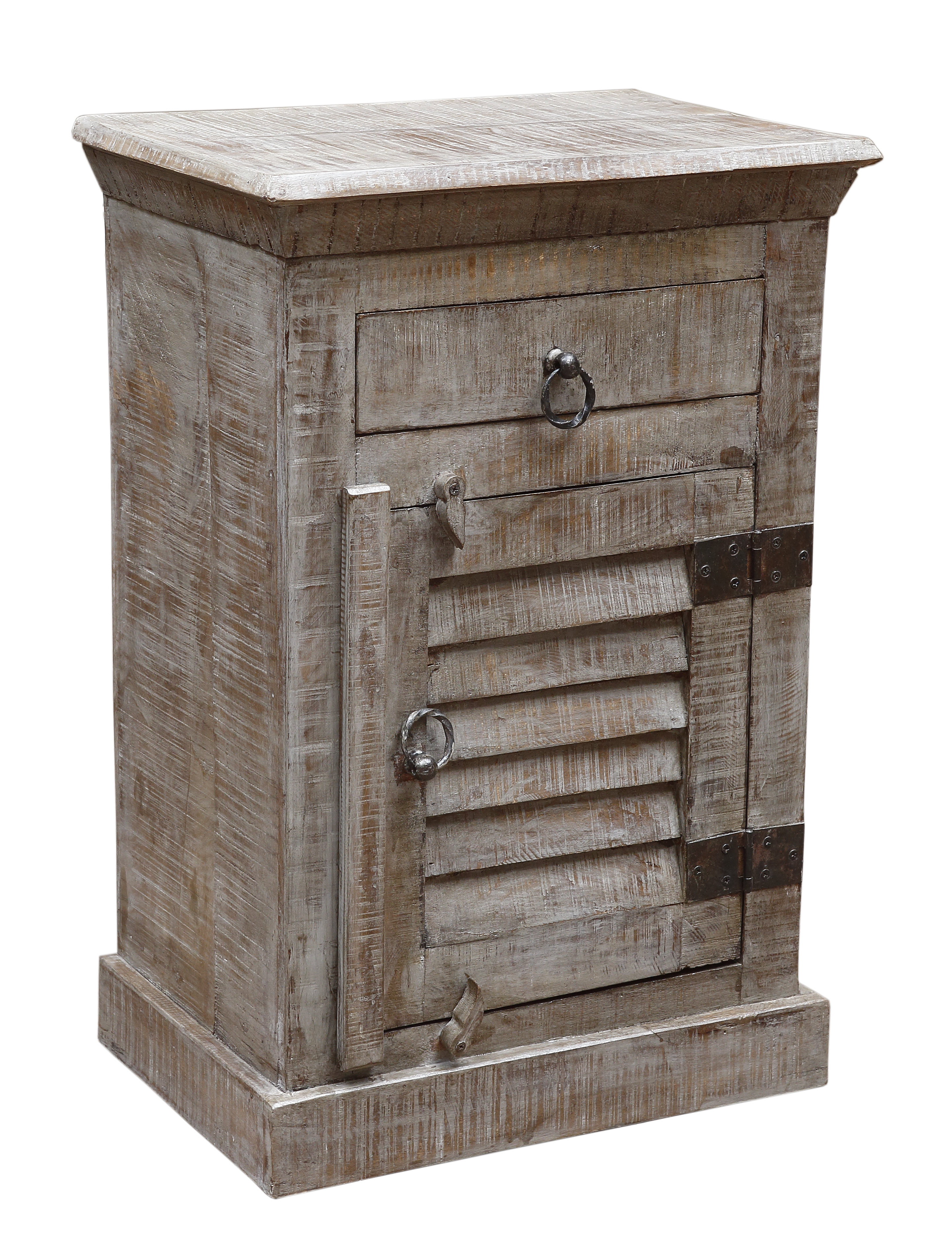 Current Moti Furniture Troy 1 Drawer Nightstand (View 5 of 20)