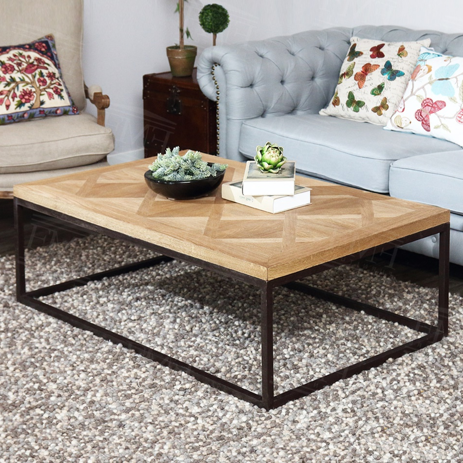 Current Reclaimed Elm Cast Iron Coffee Tables Inside Iron Coffee Table Legs – Coffee Drinker (View 3 of 20)