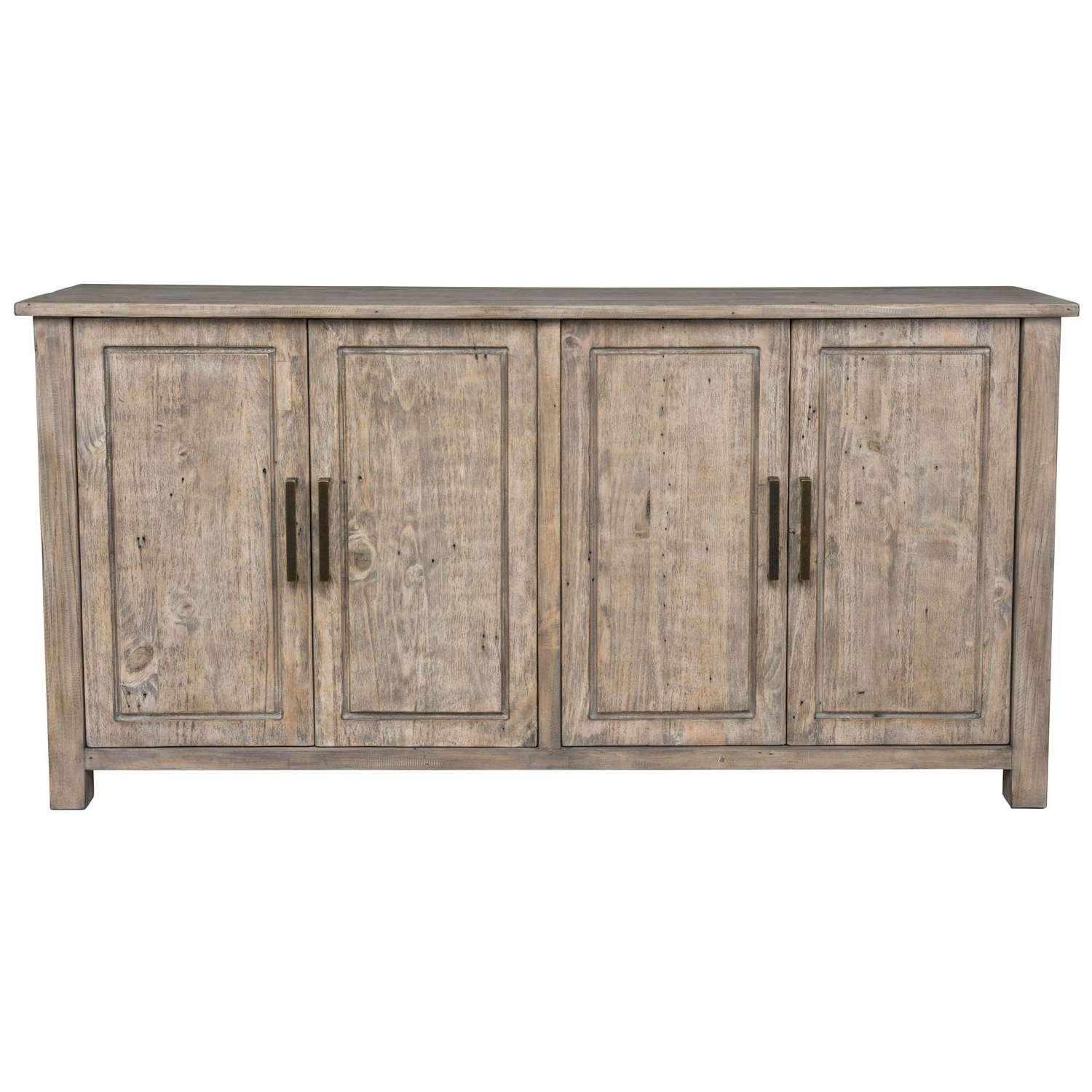 Current Shop Aires Reclaimed Wood 72 Inch Sideboardkosas Home – Free Inside Diamond Circle Sideboards (View 6 of 20)