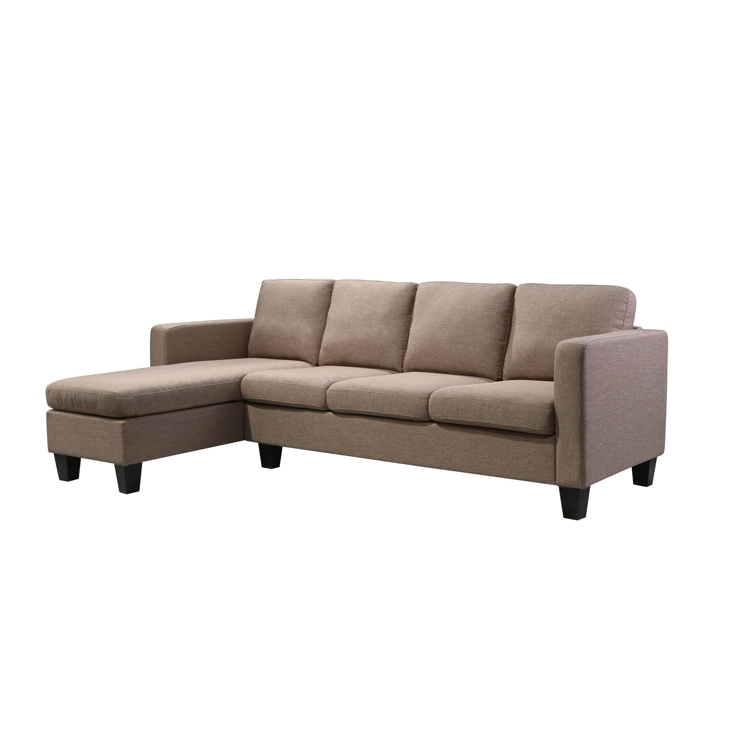Current Shop Kinnect Park 3 Seat W/chaise – Free Shipping Today – Overstock In Collins Sofa Sectionals With Reversible Chaise (Gallery 13 of 20)