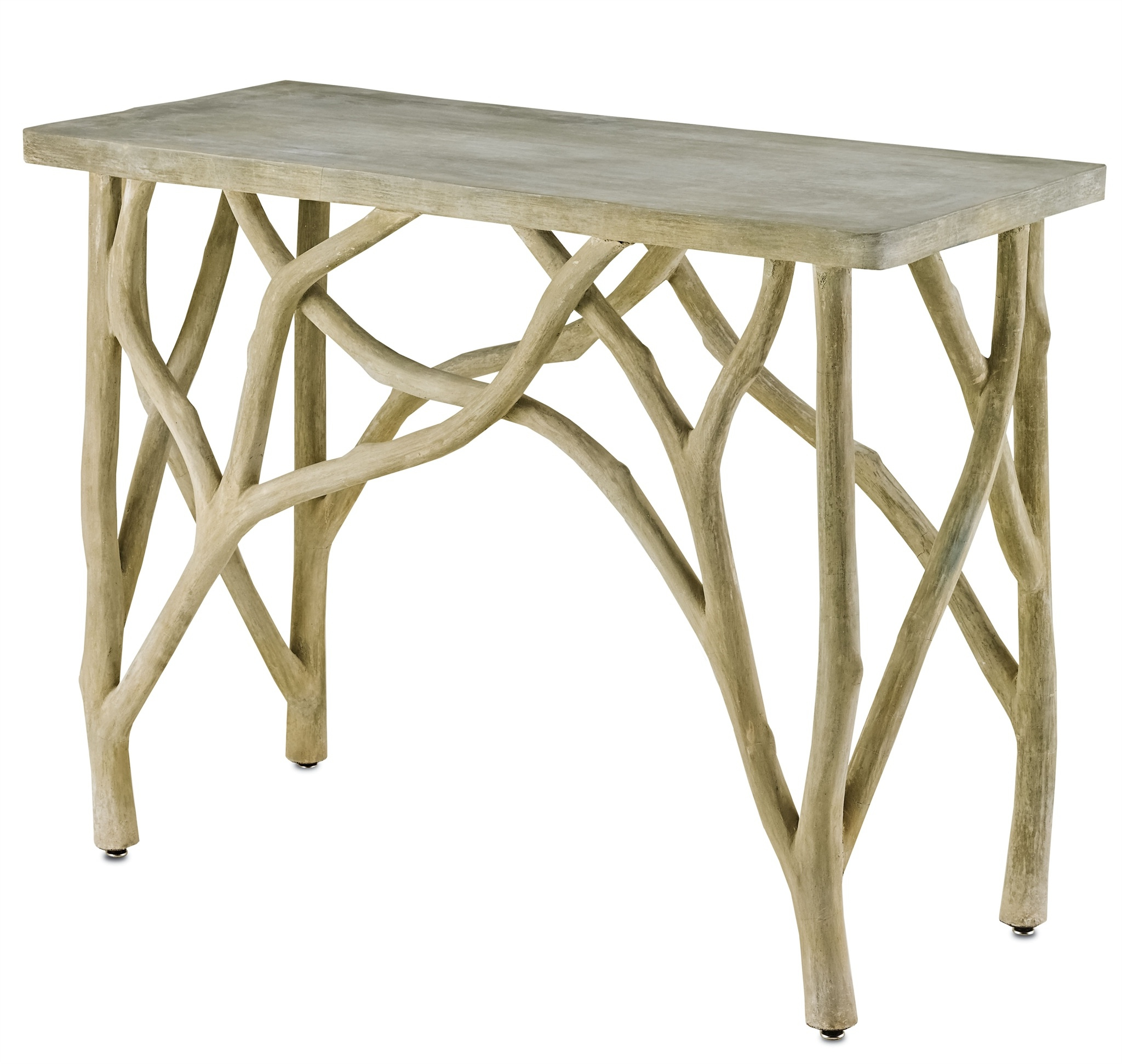 Currey & Company With Regard To Famous Faux Bois Coffee Tables (Gallery 20 of 20)
