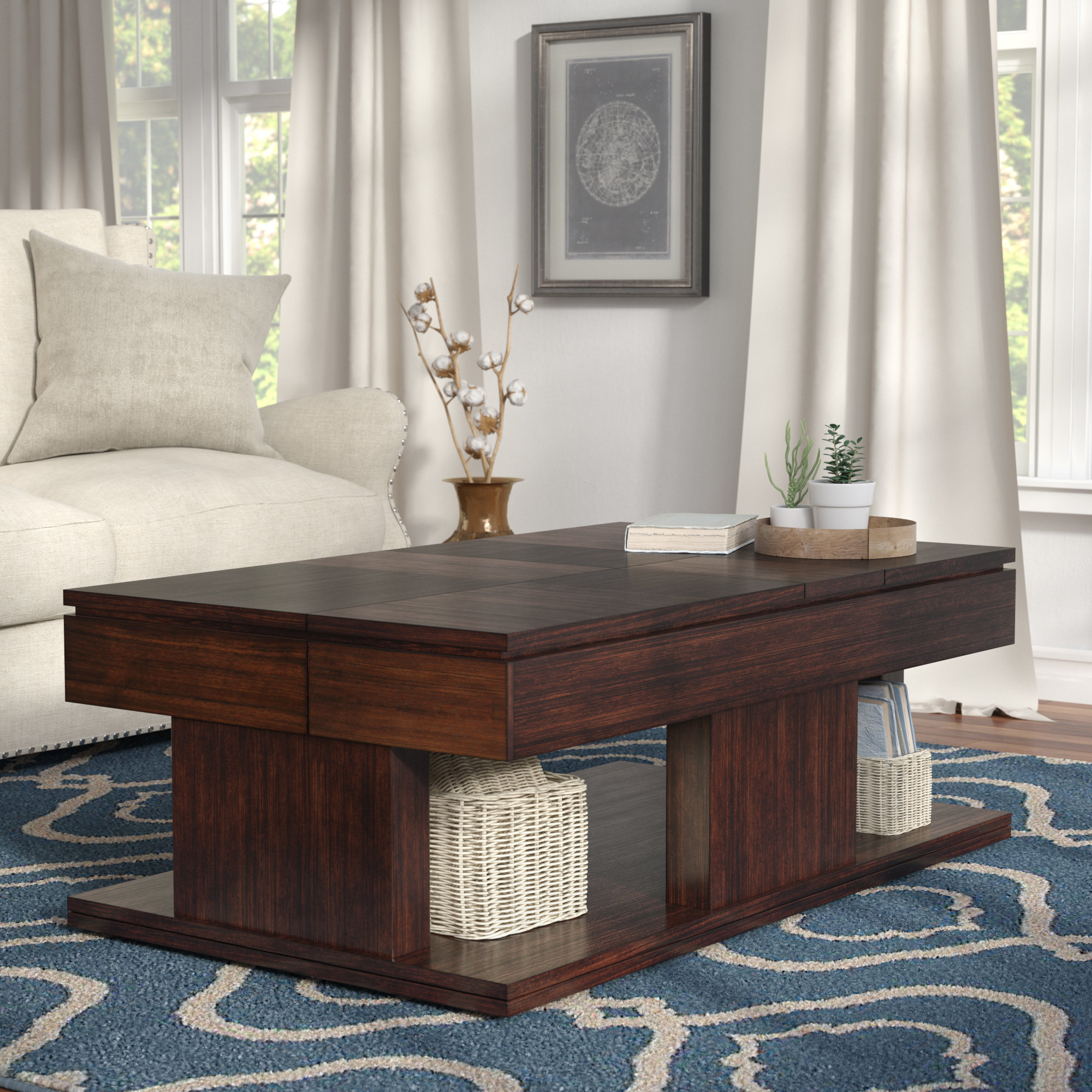 Darby Home Co Janene Lift Top Coffee Table (Gallery 18 of 20)