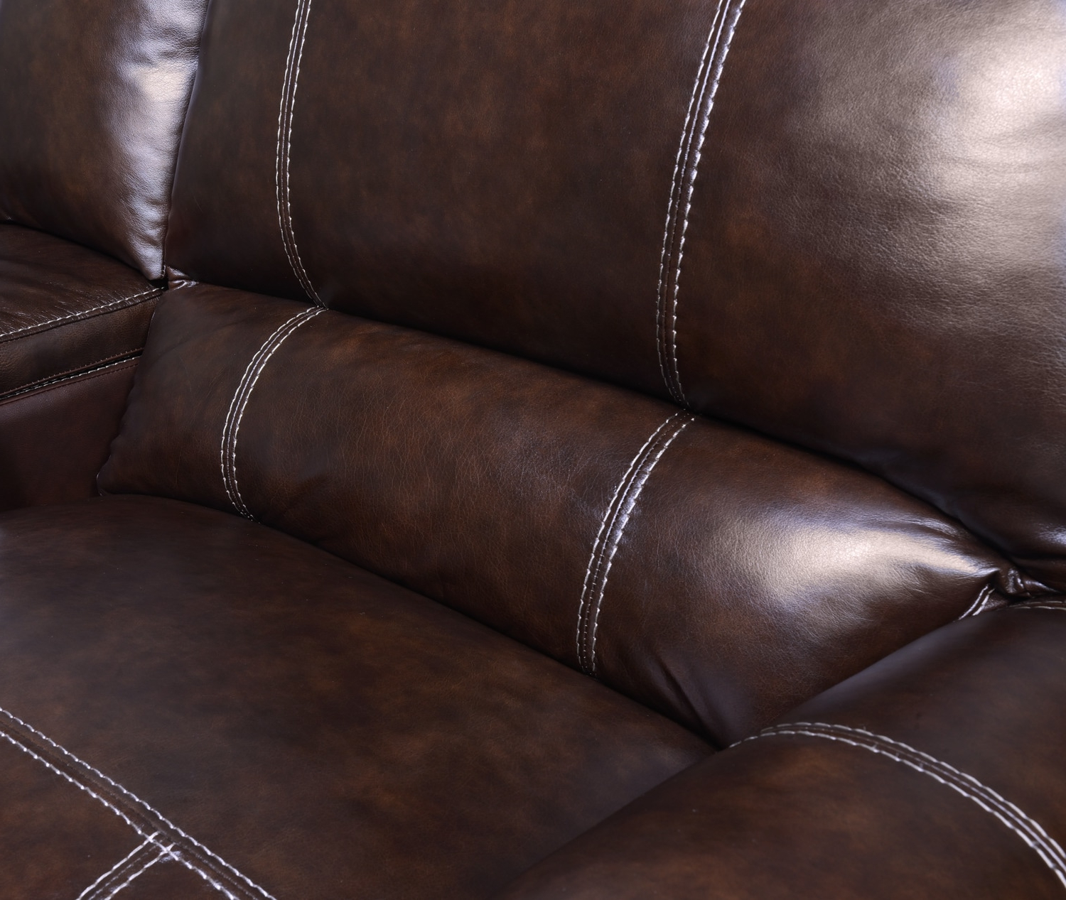Dartmouth 6 Piece Power Reclining Sectional With 2 Reclining Seats In Preferred Norfolk Chocolate 6 Piece Sectionals (View 6 of 20)