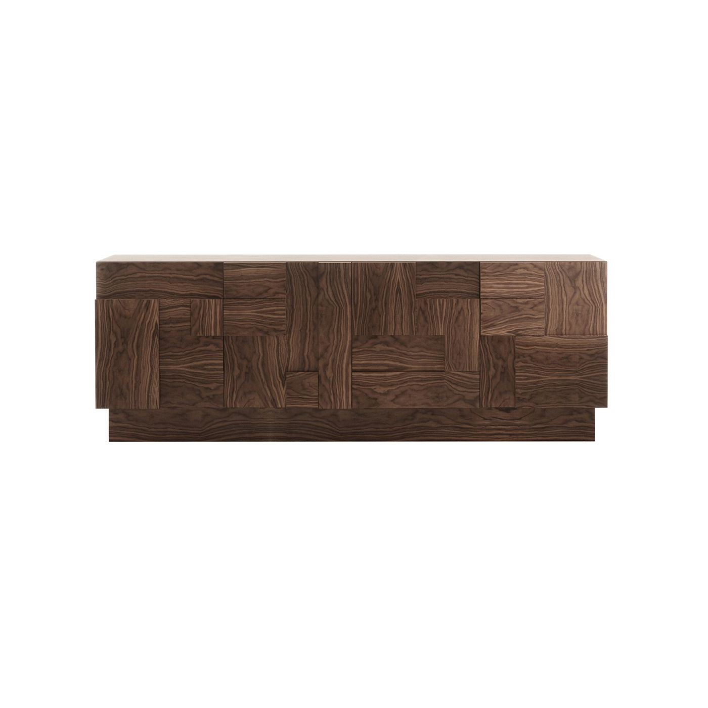 Decorar A Vida This Stunning Wooden Sideboard Has Four Intended For Ironwood 4 Door Sideboards (Gallery 5 of 20)