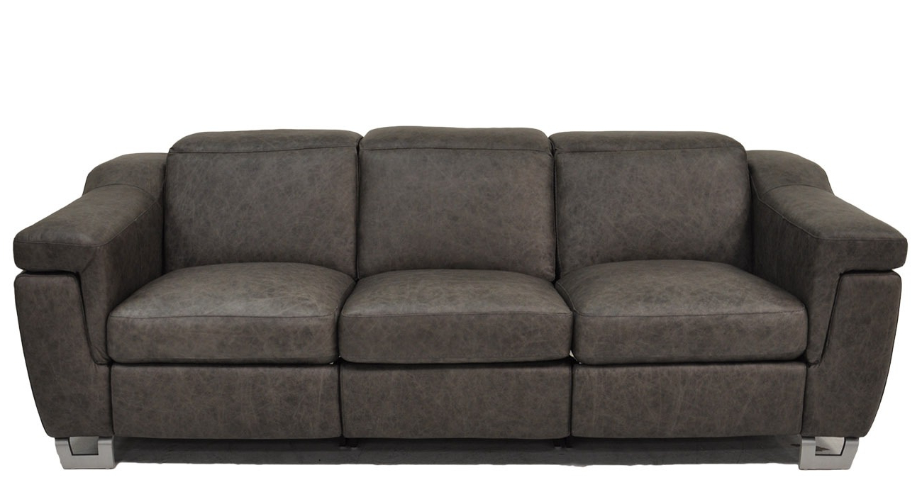 Delano • Texas Leather Interiors Furniture And Accessories For Well Known Travis Dk Grey Leather 6 Piece Power Reclining Sectionals With Power Headrest & Usb (View 5 of 20)