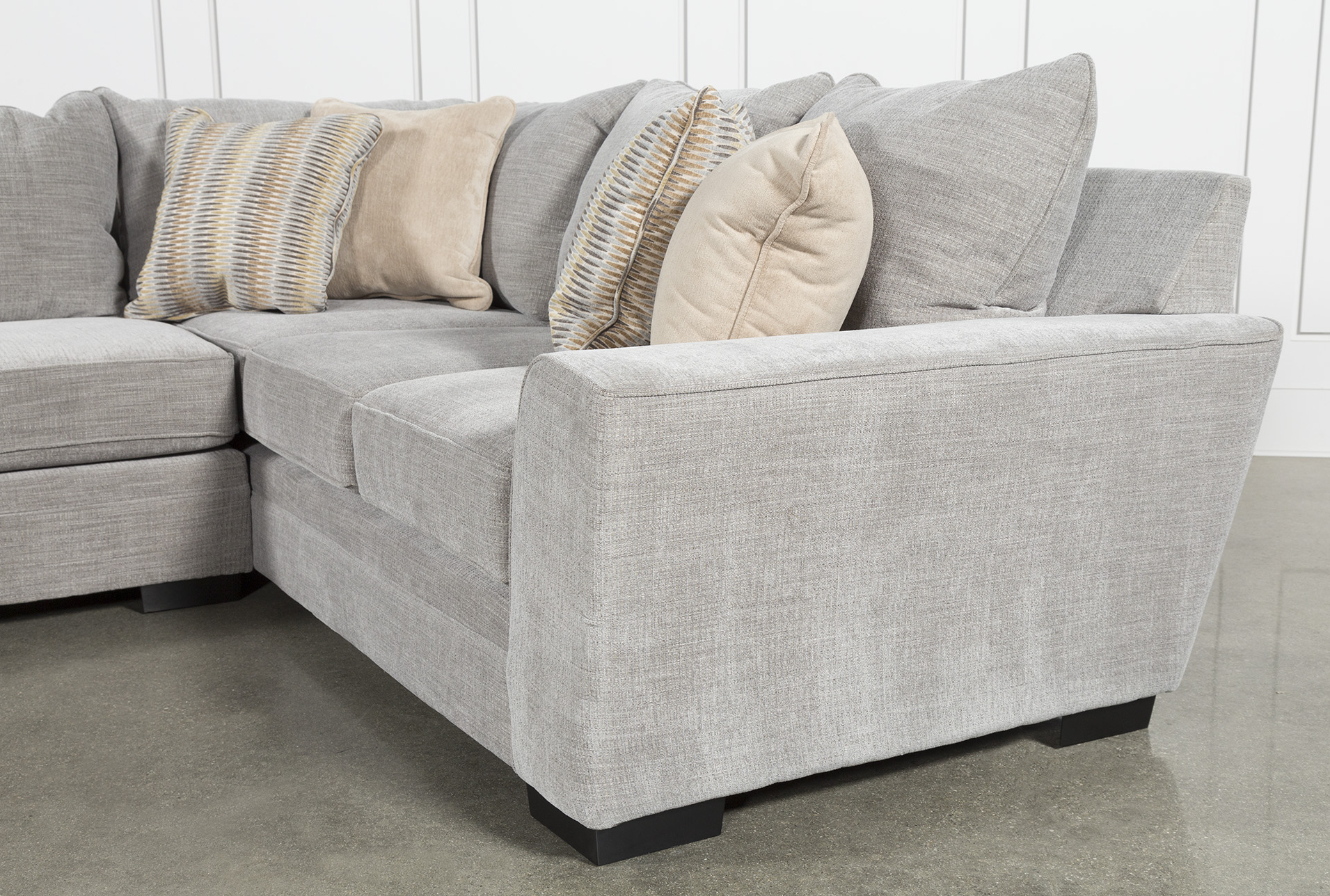 Delano Smoke 3 Piece Sectional In 2018 (Gallery 1 of 20)