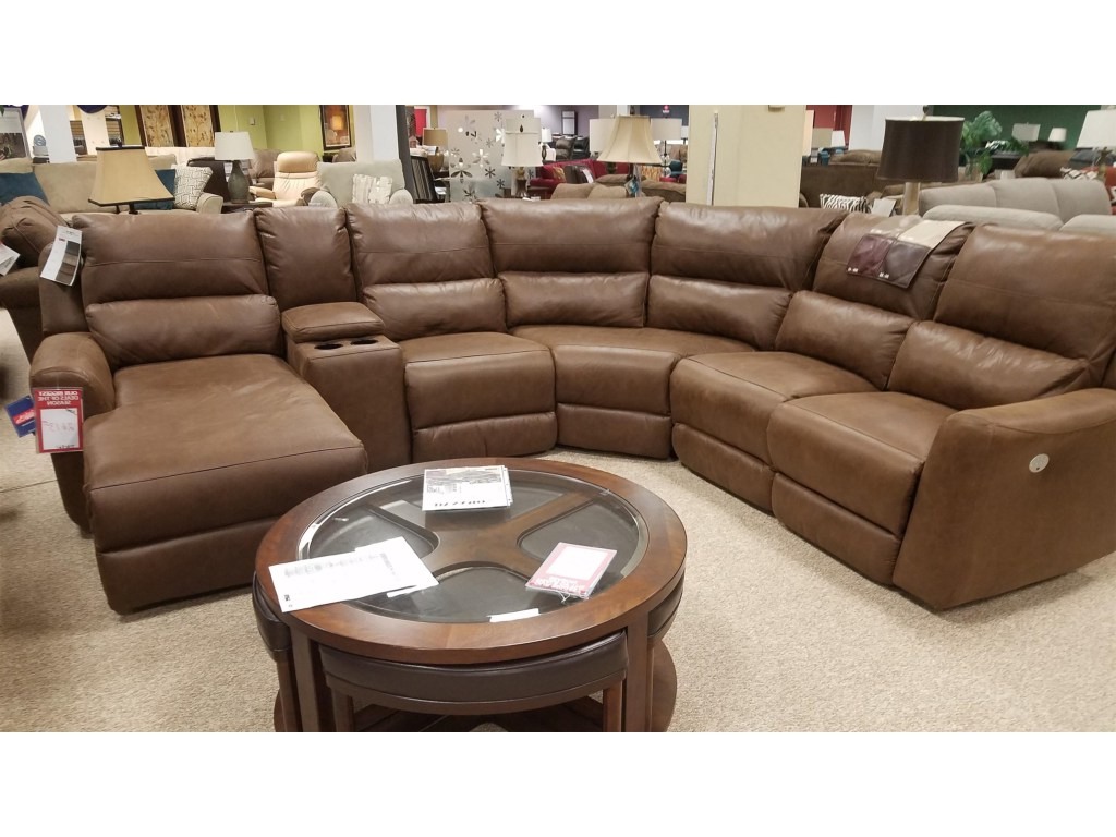 Denali Light Grey 6 Piece Reclining Sectionals With 2 Power Headrests Throughout Most Popular Power Sectional – Tidex (Gallery 6 of 20)