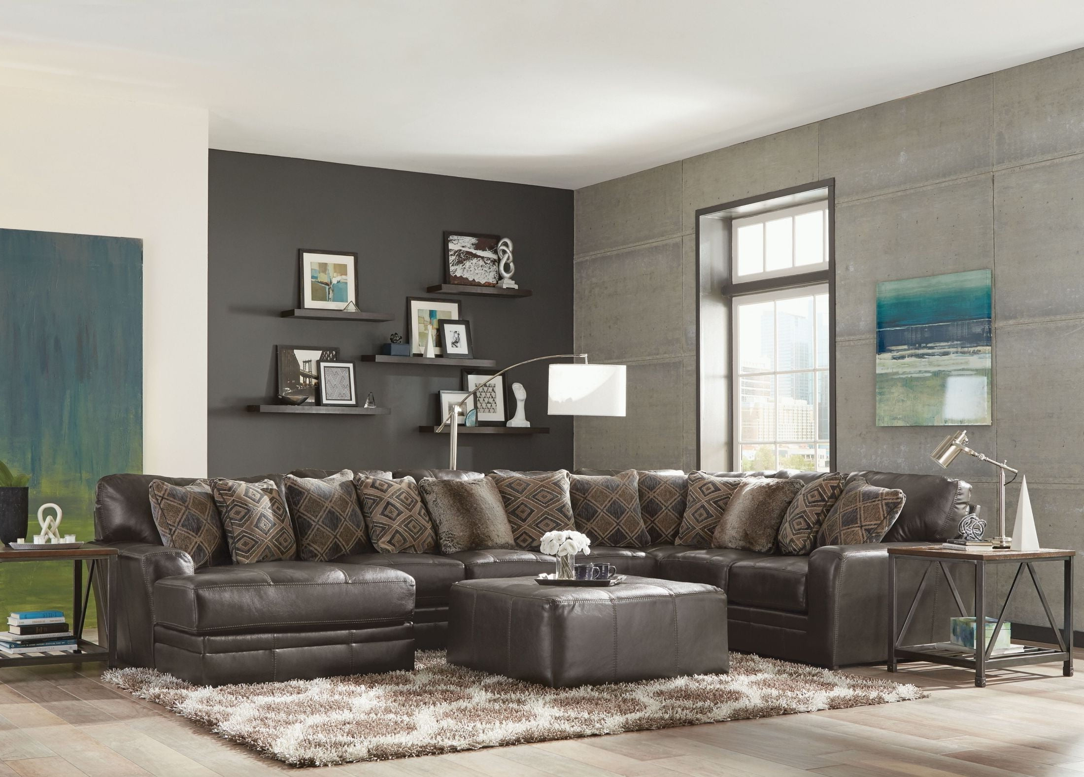 Denali Steel Sectional From Jackson (View 10 of 20)