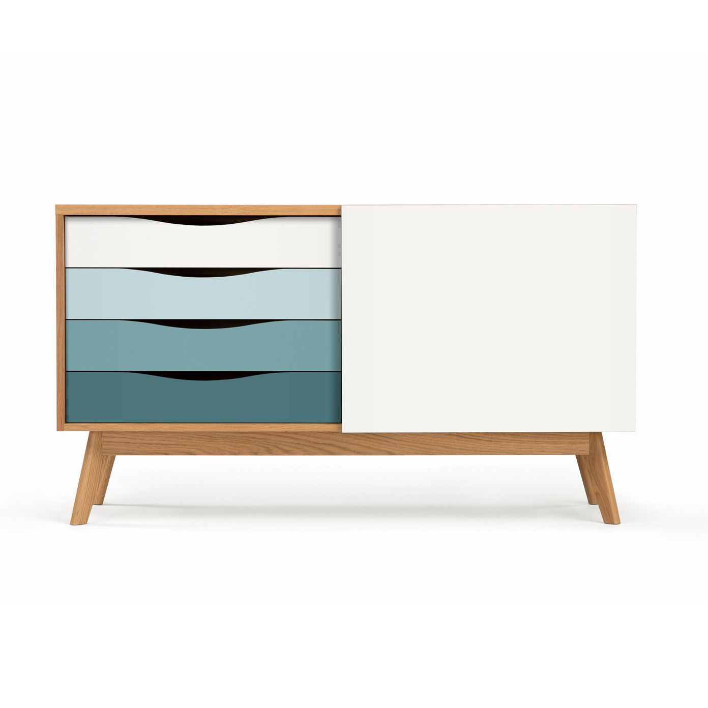Designer Möbel Within 2019 Corrugated Natural 4 Drawer Sideboards (Gallery 12 of 20)