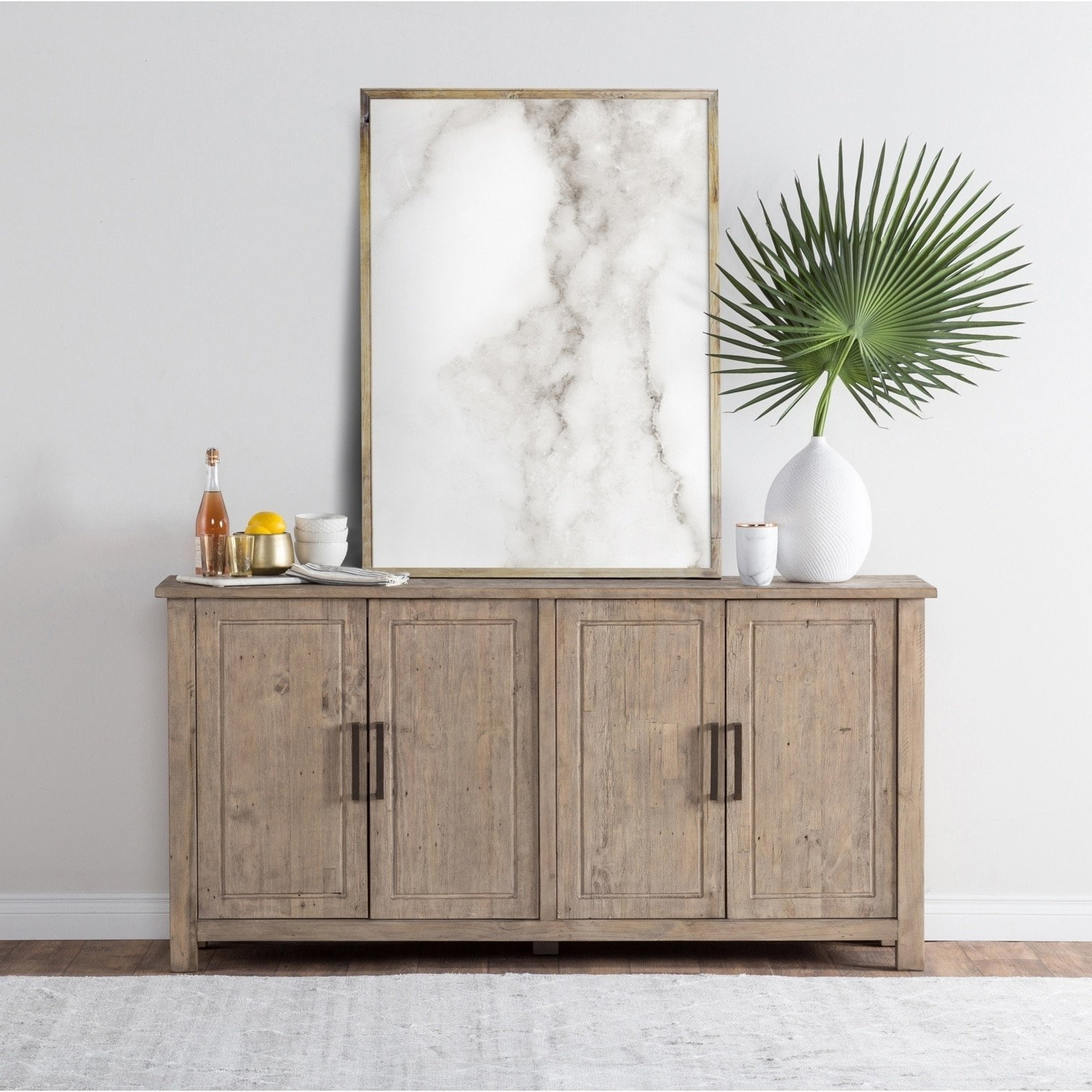 Diamond Circle Sideboards Inside Recent Shop Aires Reclaimed Wood 72 Inch Sideboardkosas Home – Free (View 13 of 20)