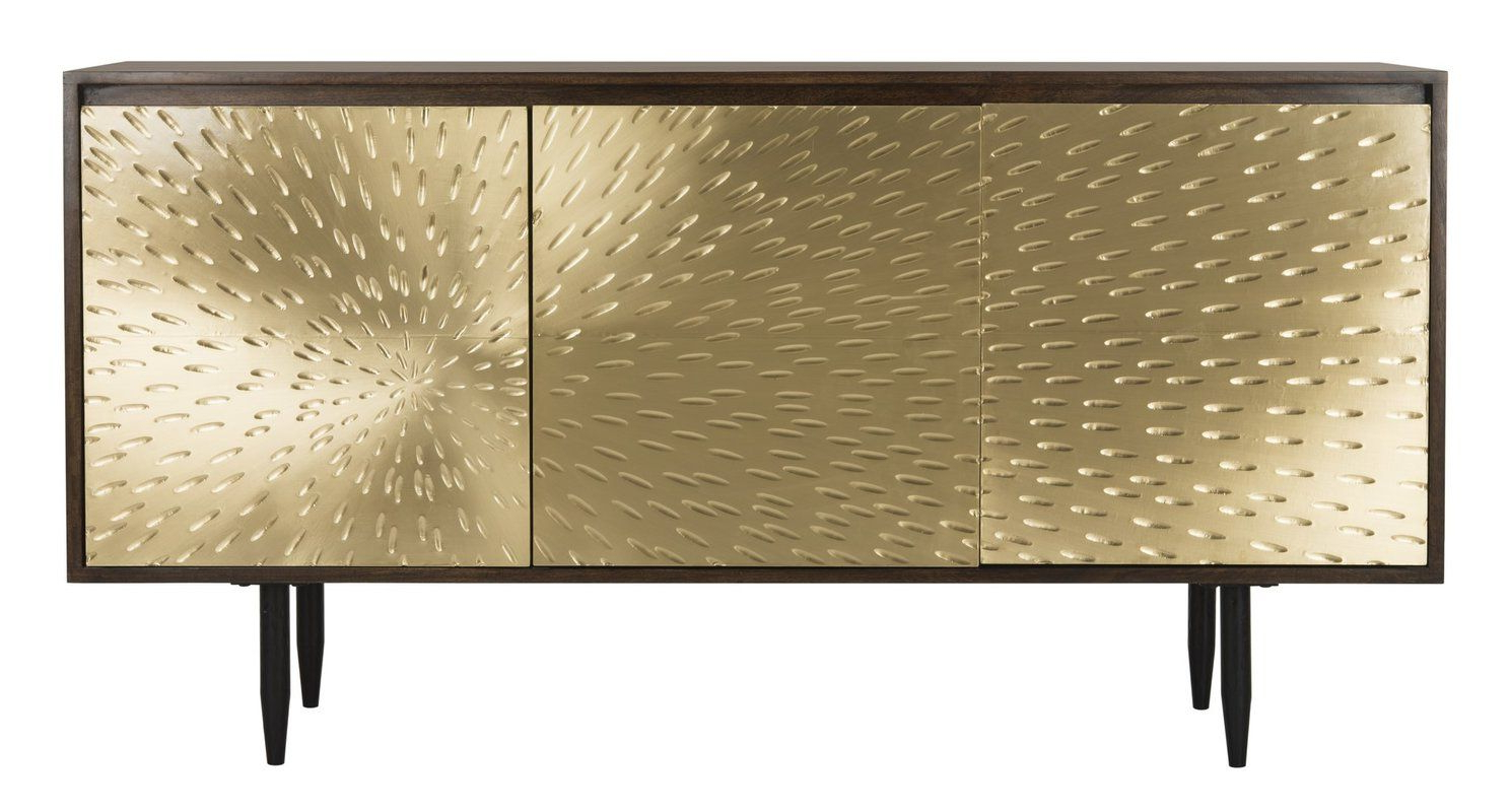 Featured Photo of Gunmetal Perforated Brass Sideboards