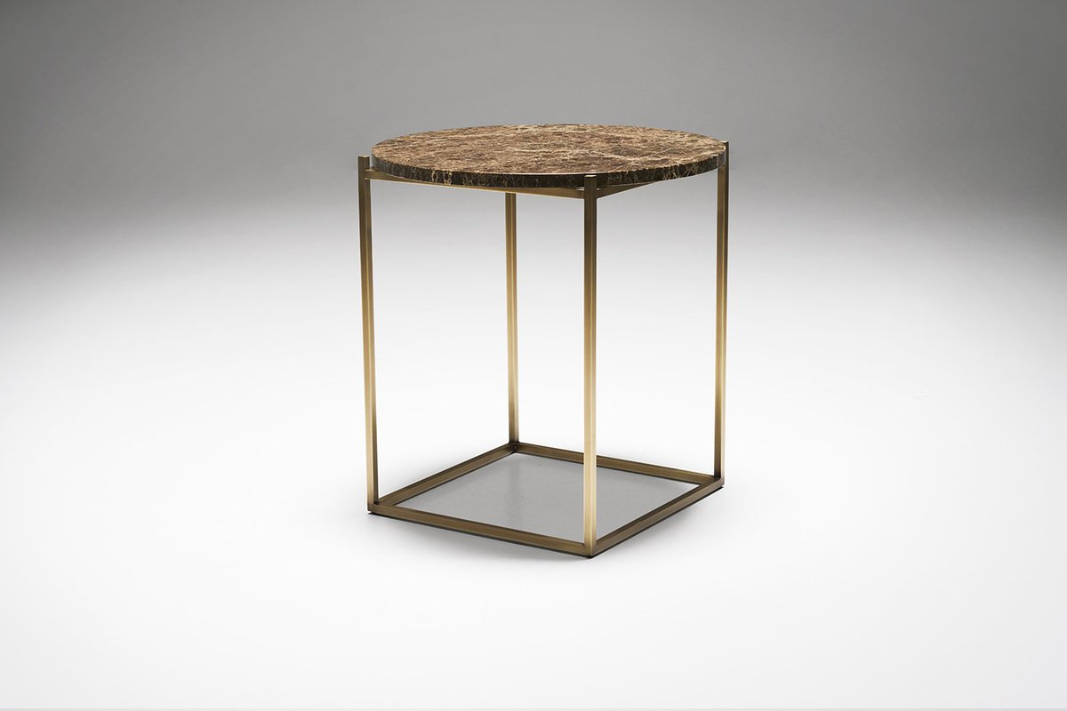 "Drechsel Studio On Twitter: ""a Slim Delicate Structure Suspends A For Well Known Suspend Ii Marble And Wood Coffee Tables (View 2 of 20)"