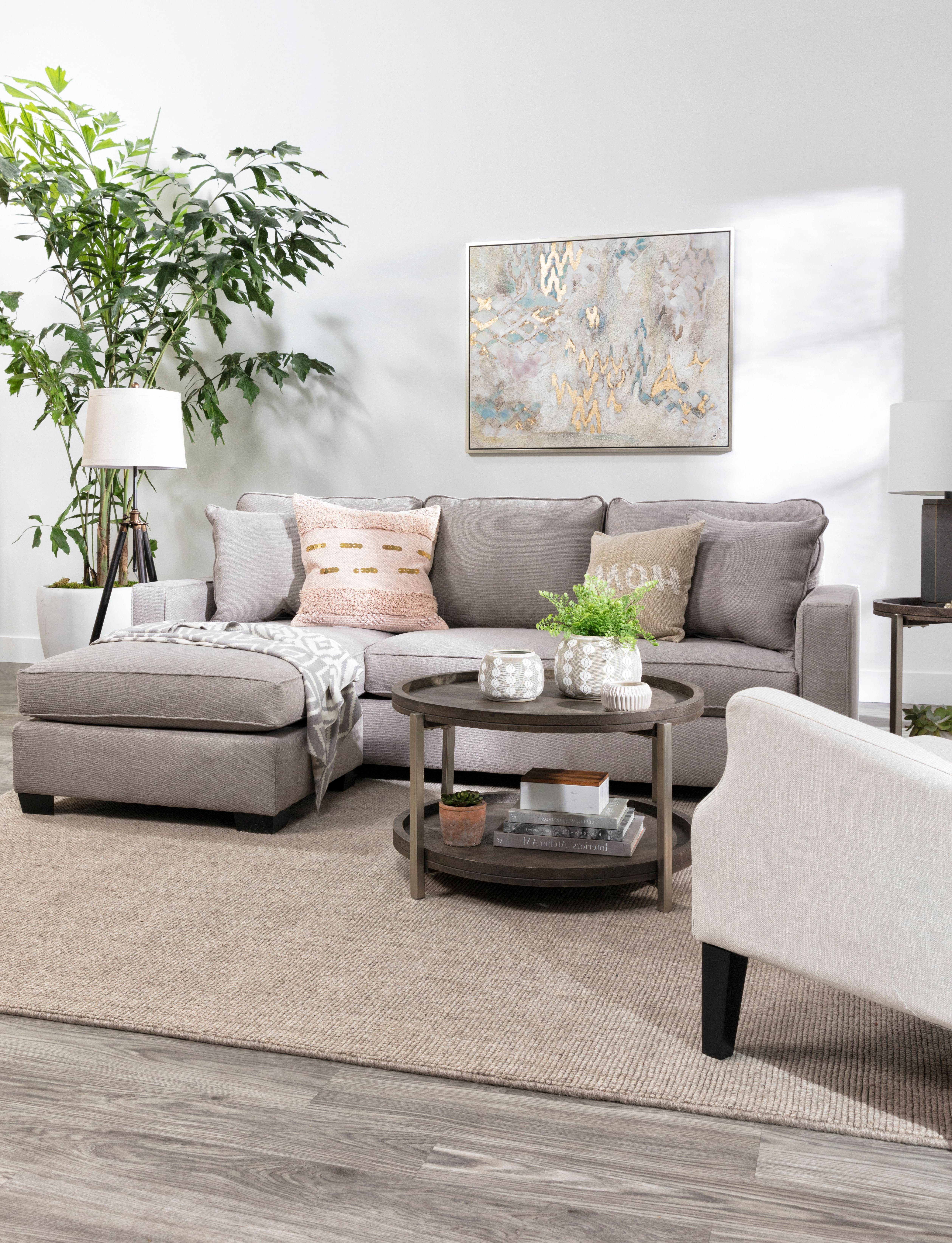Egan Ii Cement Sofa Sectionals With Reversible Chaise With Regard To Best And Newest Egan Ii Cement Sofa W/reversible Chaise In 2018 (Gallery 5 of 20)