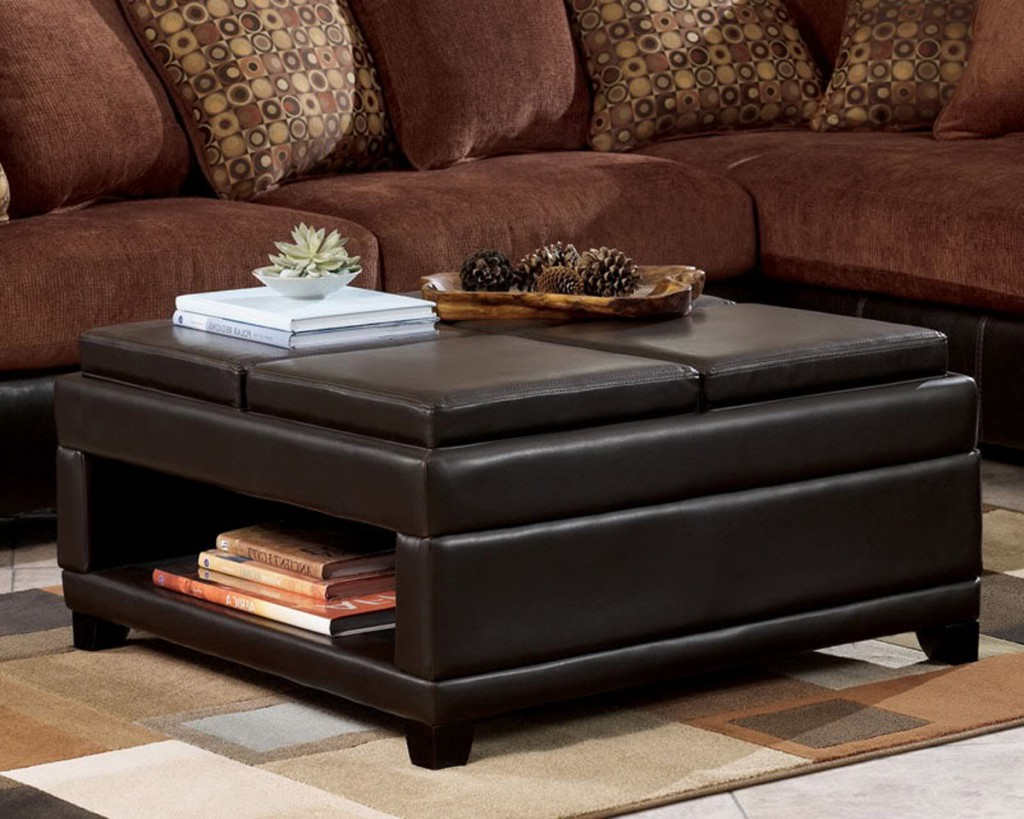 Elba Ottoman Coffee Tables With Recent Coffee Table: Ottoman Coffee Table Coffee Table Ottoman Combo (Gallery 3 of 20)