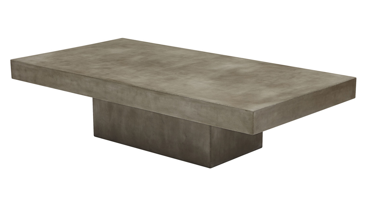 Element Grey Concrete Coffee Table – So That's Cool Throughout Most Recently Released Element Coffee Tables (View 10 of 20)