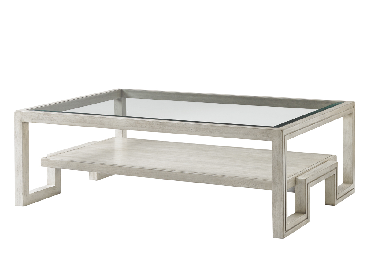 Element Ivory Rectangular Coffee Tables In Well Known Oyster Bay Saddlebrook Rectangular Cocktail Table (View 11 of 20)