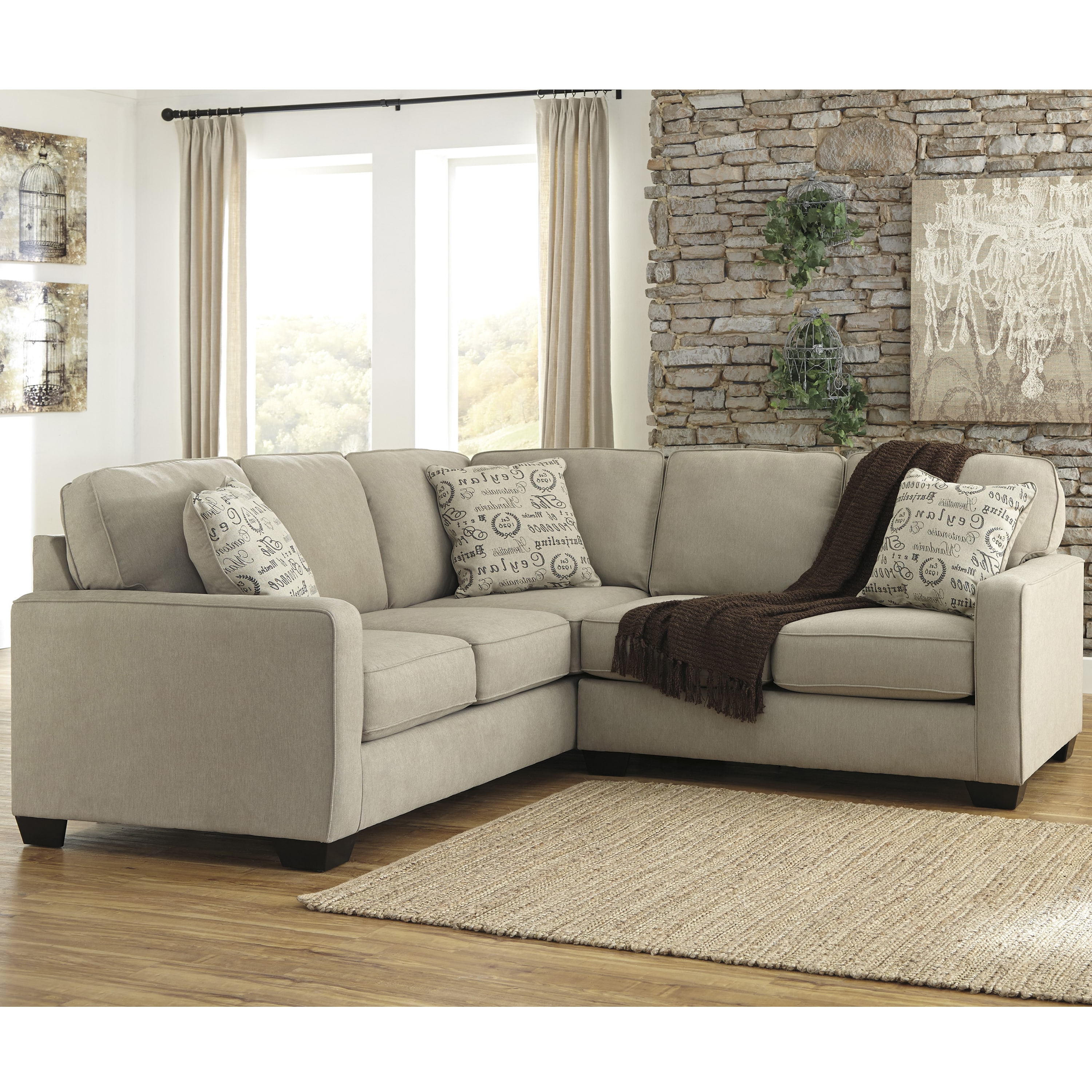 Elm Grande Ii 2 Piece Sectionals For Fashionable Patola Park Patina Large Sectional W/ Chaise (View 5 of 20)