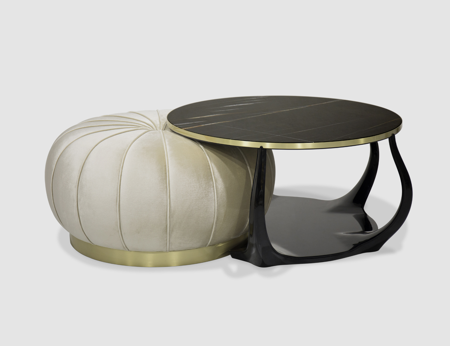 Embrace Cocktail Table Ottoman (View 5 of 20)