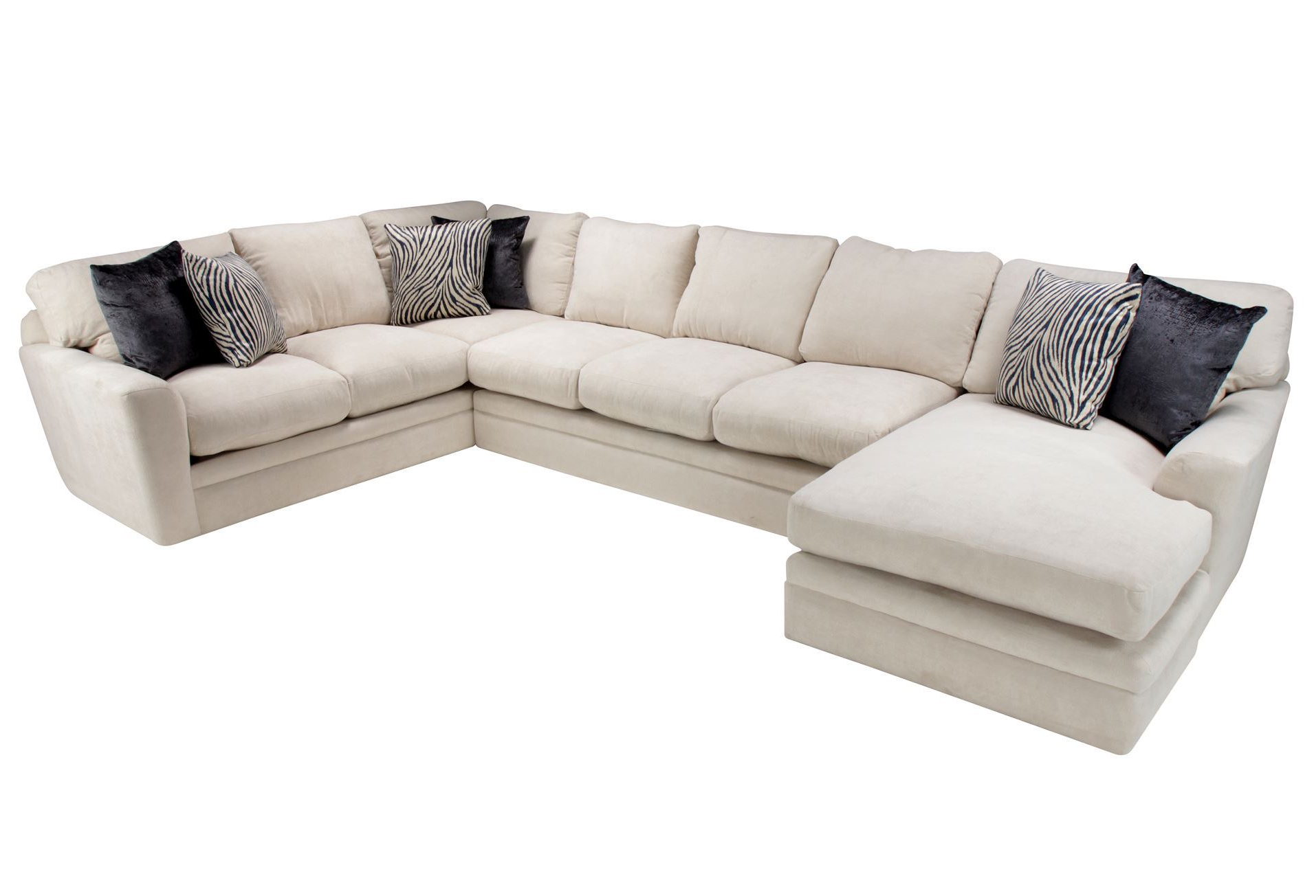 Evan 2 Piece Sectionals With Raf Chaise In Favorite Corbin 3 Piece Sectional W Raf Chaise Ideas Of Living Spaces (View 5 of 20)