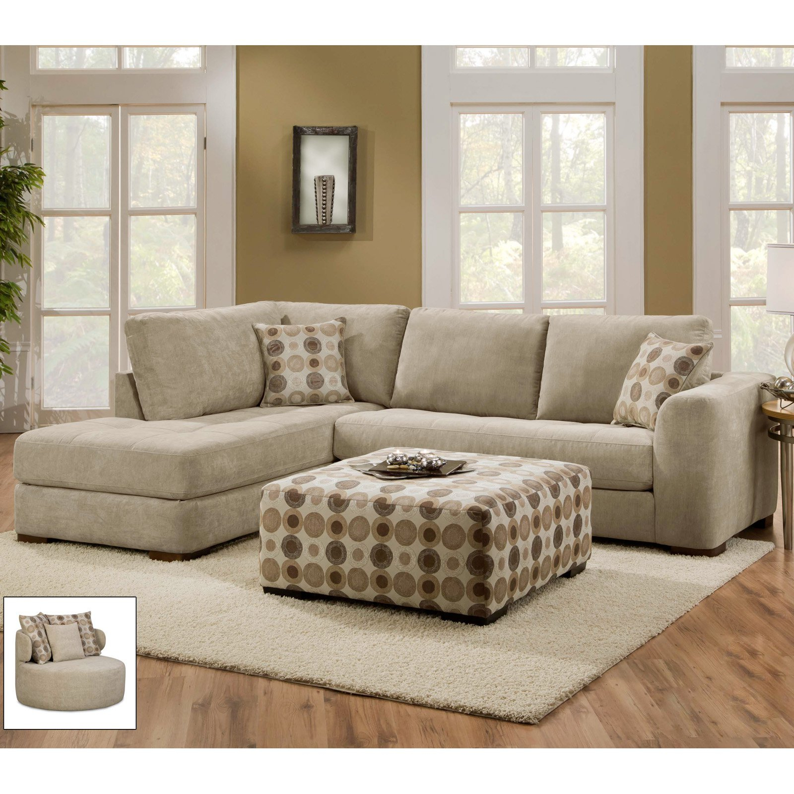 Evan 2 Piece Sectionals With Raf Chaise Pertaining To Most Popular Evan Piecetional Wraf Chaise Living Spaces Unbelievable Sofa (View 8 of 20)