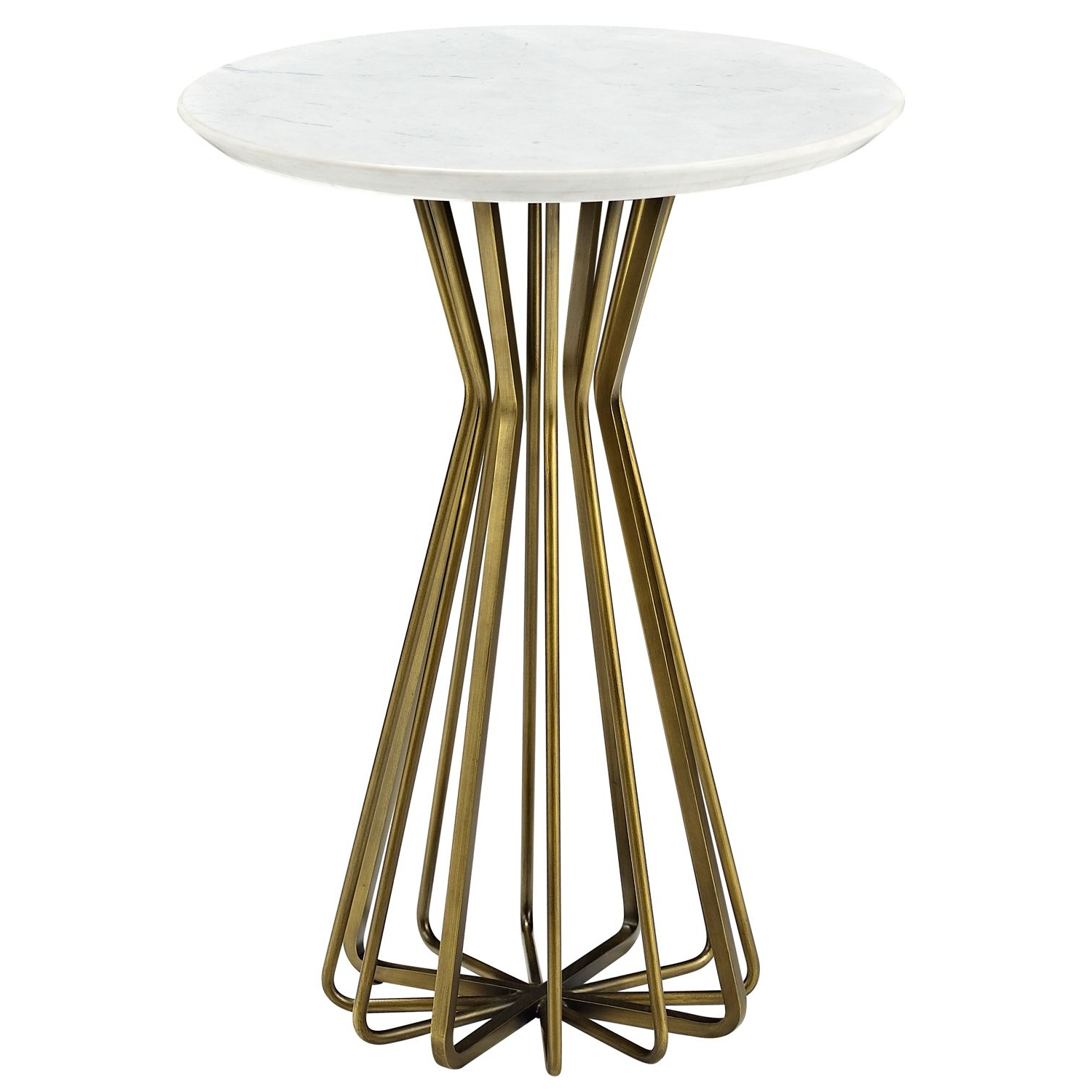 Exton Cocktail Tables Intended For 2019 A Compelling Openwork Design Provides The Contemporary Style Of The (View 7 of 20)