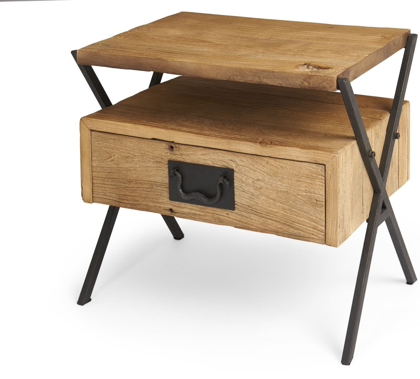 Eyres Furniture With Reclaimed Elm Cast Iron Coffee Tables (Gallery 16 of 20)