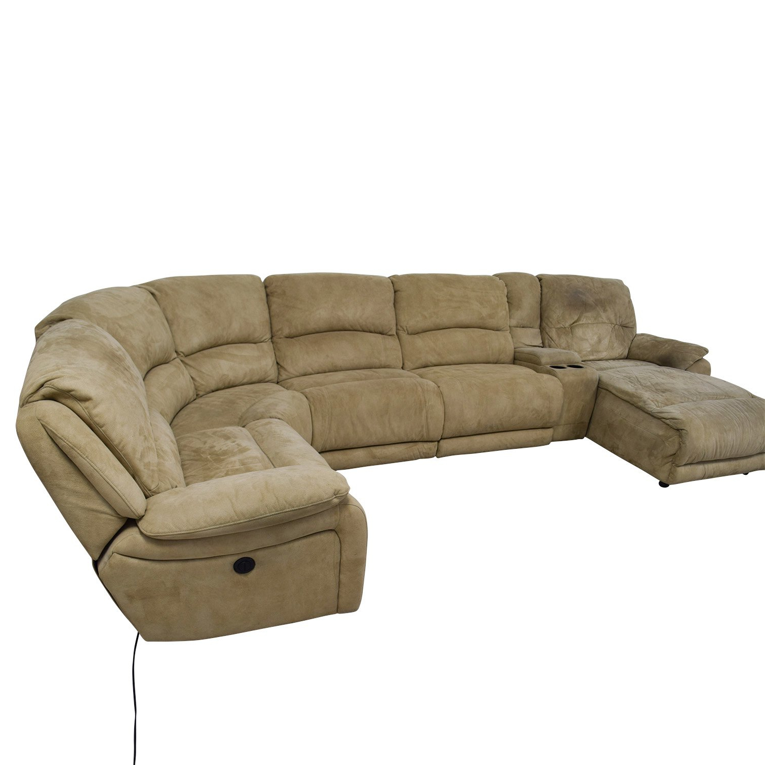 Fabulous 25 Power Reclining Sectional Sofa Favorite Regarding Most Recently Released Calder Grey 6 Piece Manual Reclining Sectionals (View 3 of 20)