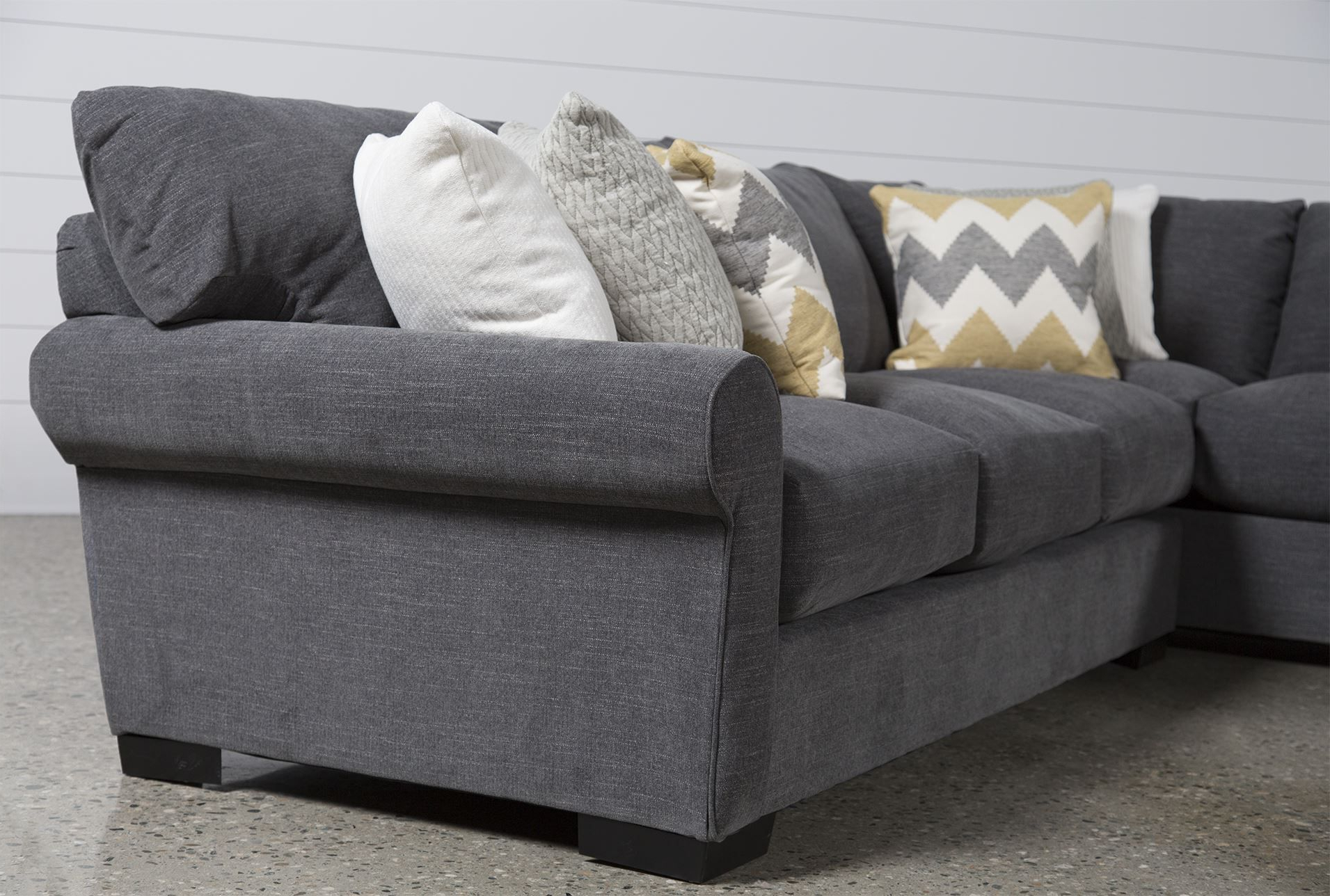 Famous Aurora 2 Piece Sectional (View 3 of 20)
