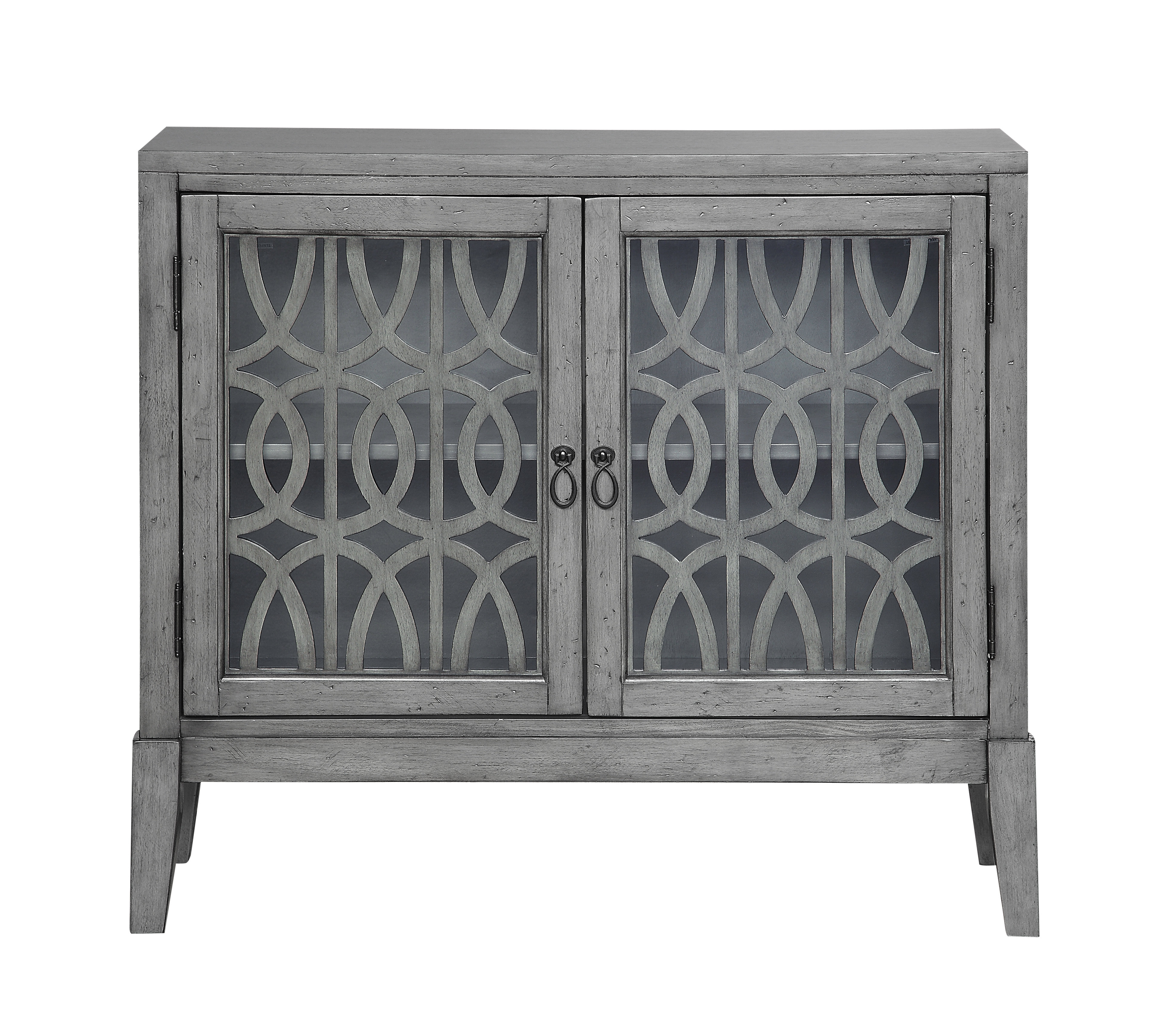 Famous Bungalow Rose Rosehill 2 Door Accent Cabinet & Reviews (View 6 of 20)