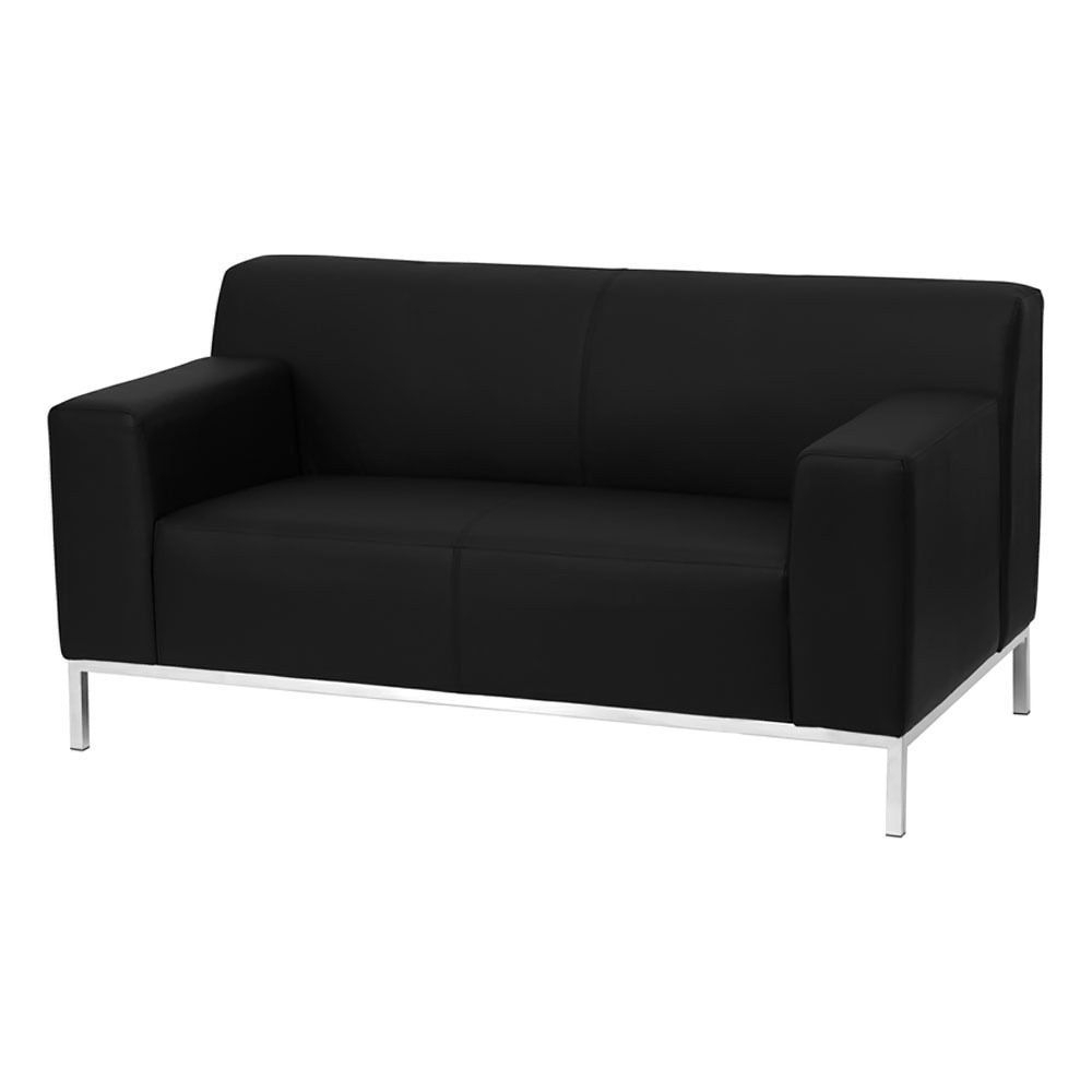 Famous Clyde Saddle 3 Piece Power Reclining Sectionals With Power Headrest & Usb With Offex Hercules Definity Series Contemporary Black Leather Loveseat (View 19 of 20)