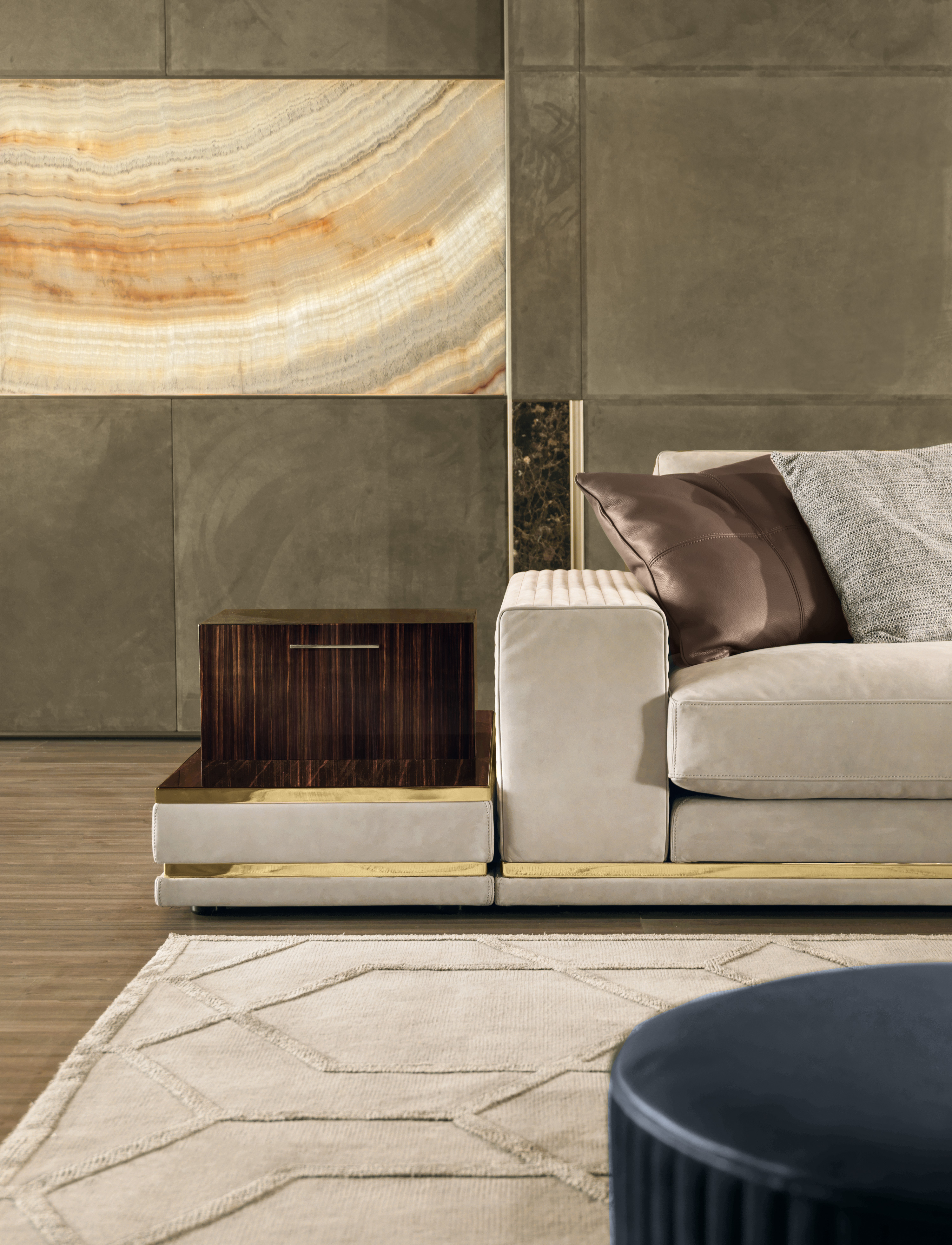 Famous Cohen High End Italian Sofa – Italian Designer & Luxury Furniture At Pertaining To Cohen Down 2 Piece Sectionals (View 12 of 20)