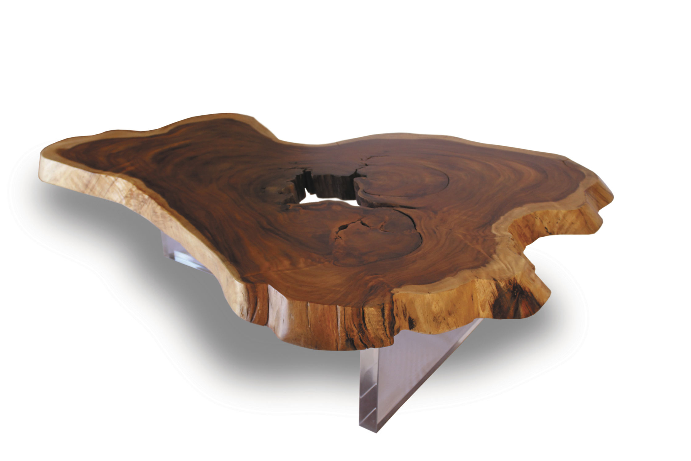 Famous Contemporary Coffee Table / Wooden / In Reclaimed Material Inside Live Edge Teak Coffee Tables (View 4 of 20)