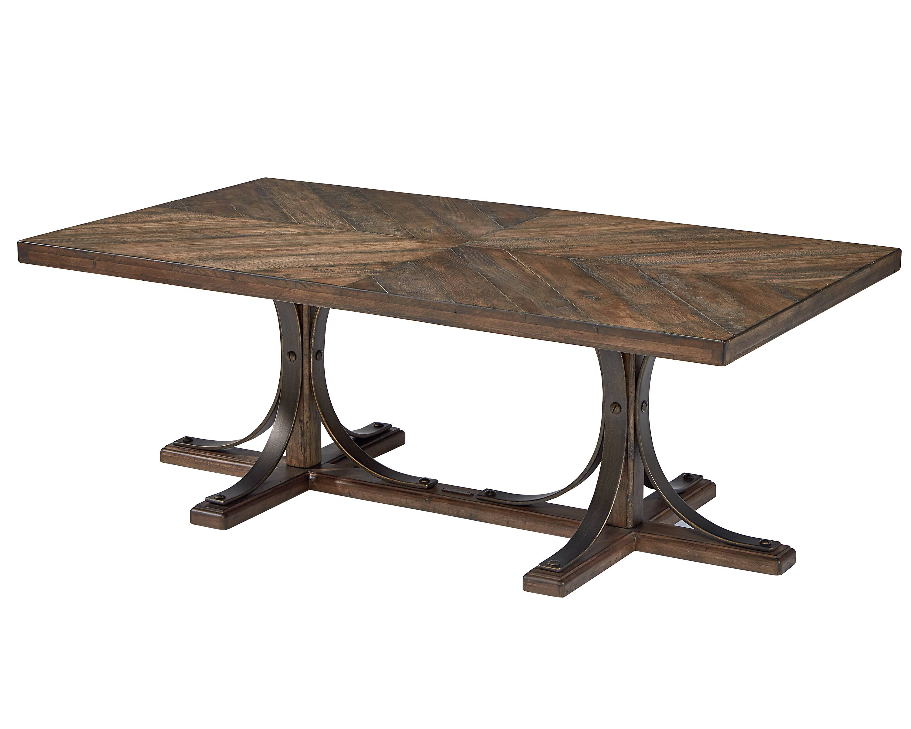 Famous Magnolia Home Iron Trestle Cocktail Tables Within Iron Trestle Coffee Table – Magnolia Home (Gallery 1 of 20)
