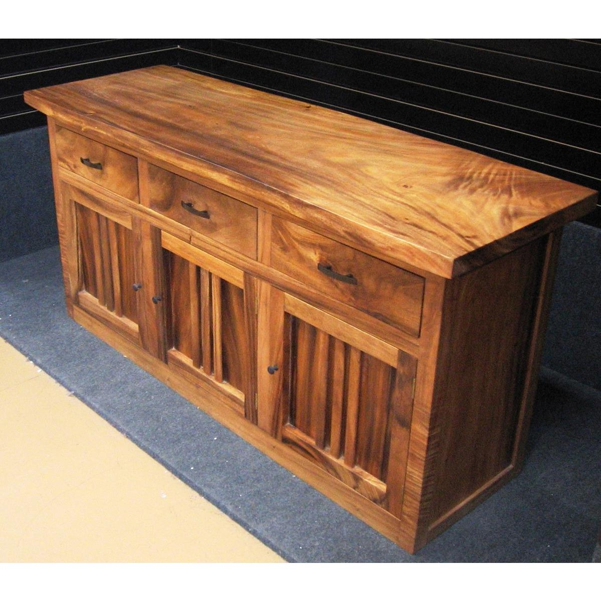 Famous Natural Oak Wood 78 Inch Sideboards In Monsoon Wood   Dining Buffet At Elementfinefurniture Hand Made (View 5 of 20)